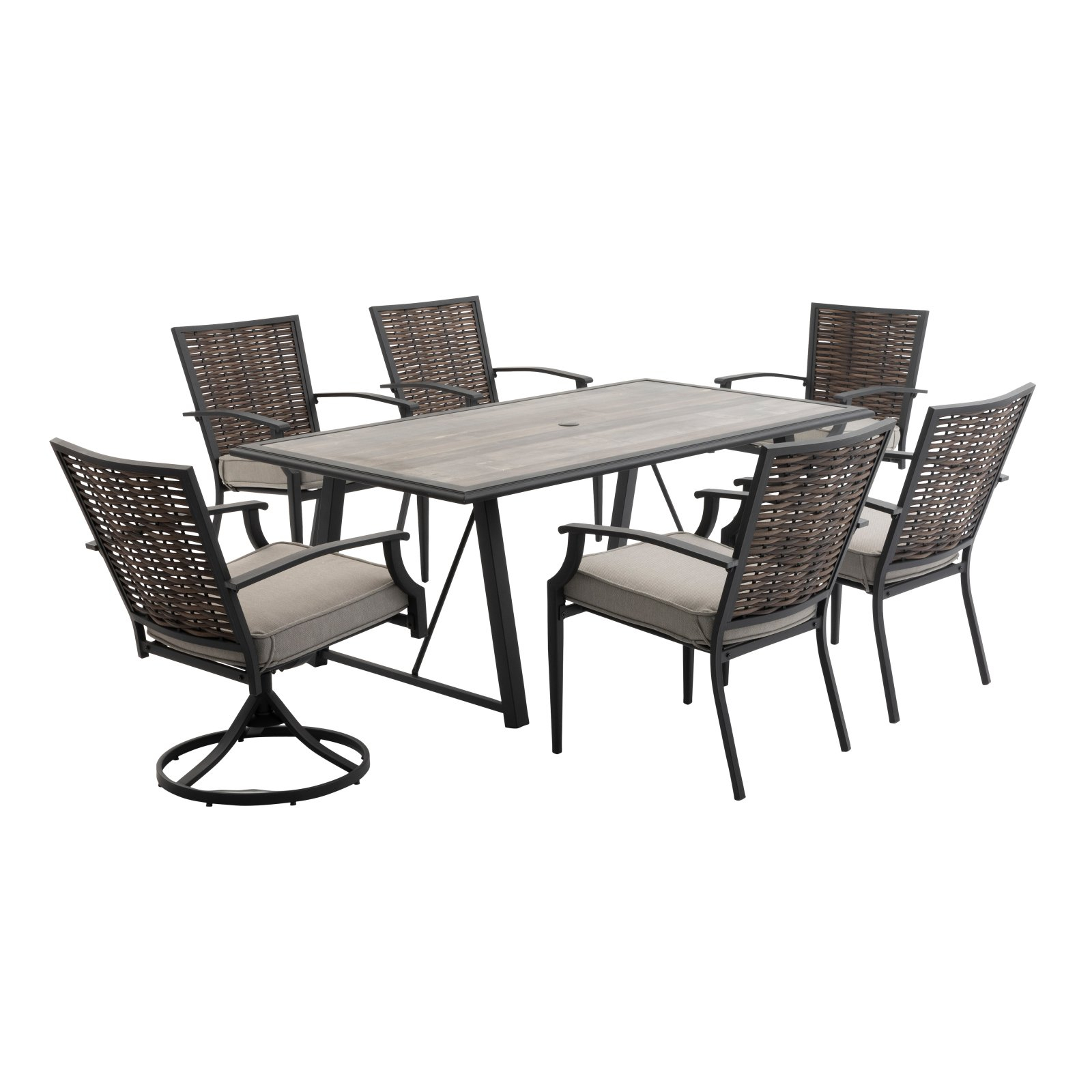Ebern Designs Tarleton 5 Piece Dining Set – Walmart Inside Recent Tarleton 5 Piece Dining Sets (View 3 of 20)
