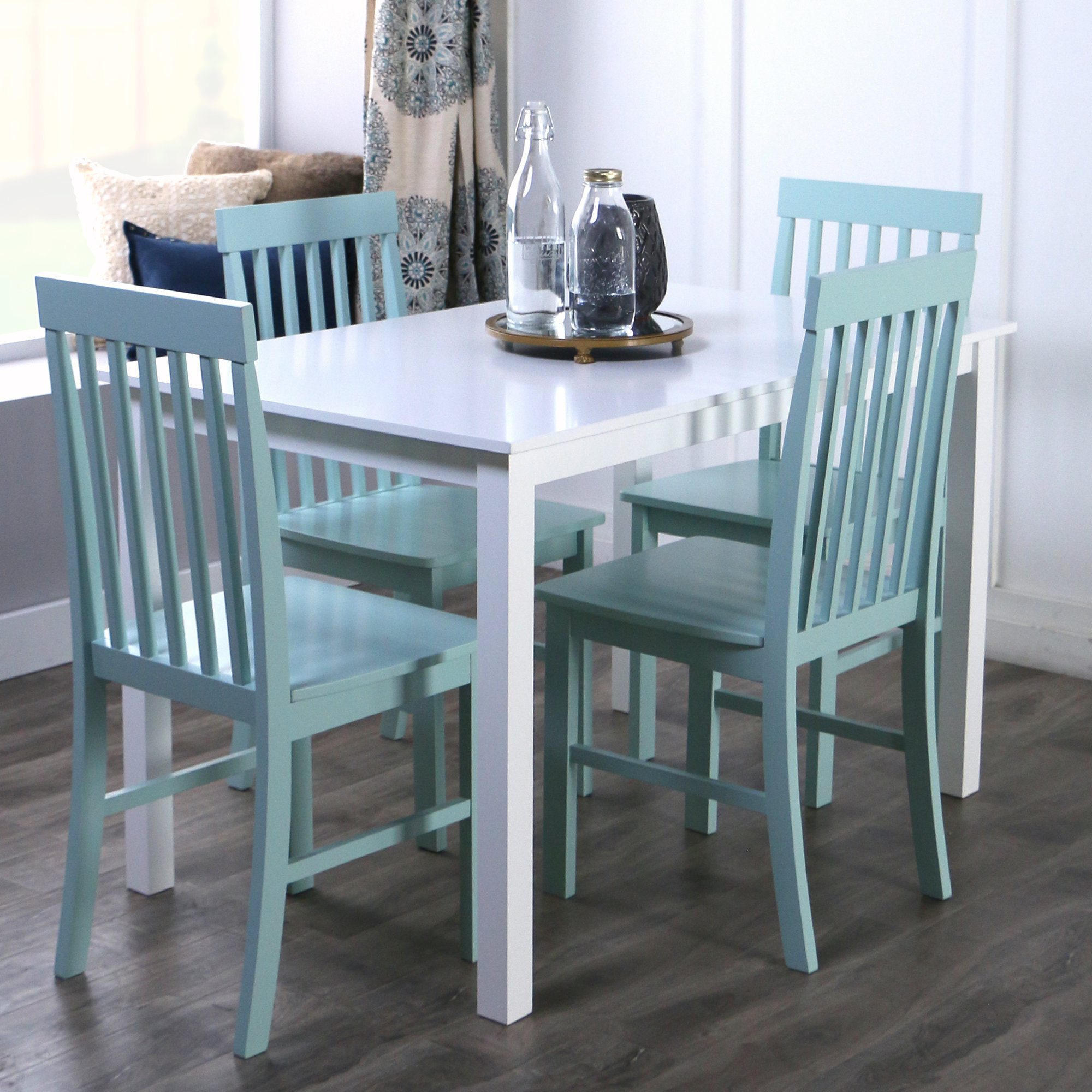 Endicott 5 Piece Dining Set With Recent Pattonsburg 5 Piece Dining Sets (View 7 of 20)