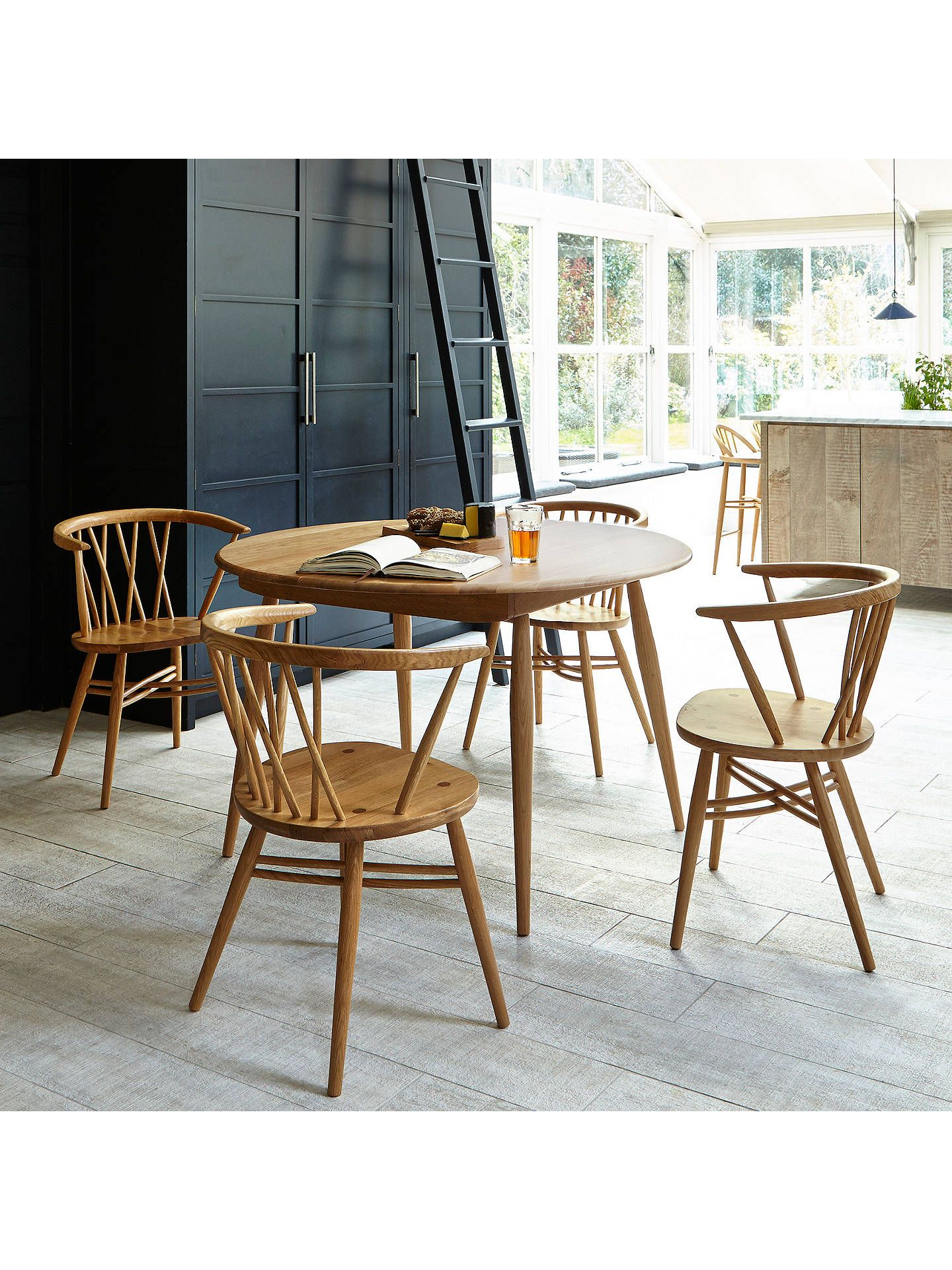 Ercol For John Lewis Shalstone 4 Seater Dining Table, Oak In 2019 With 2017 John 4 Piece Dining Sets (Image 6 of 20)
