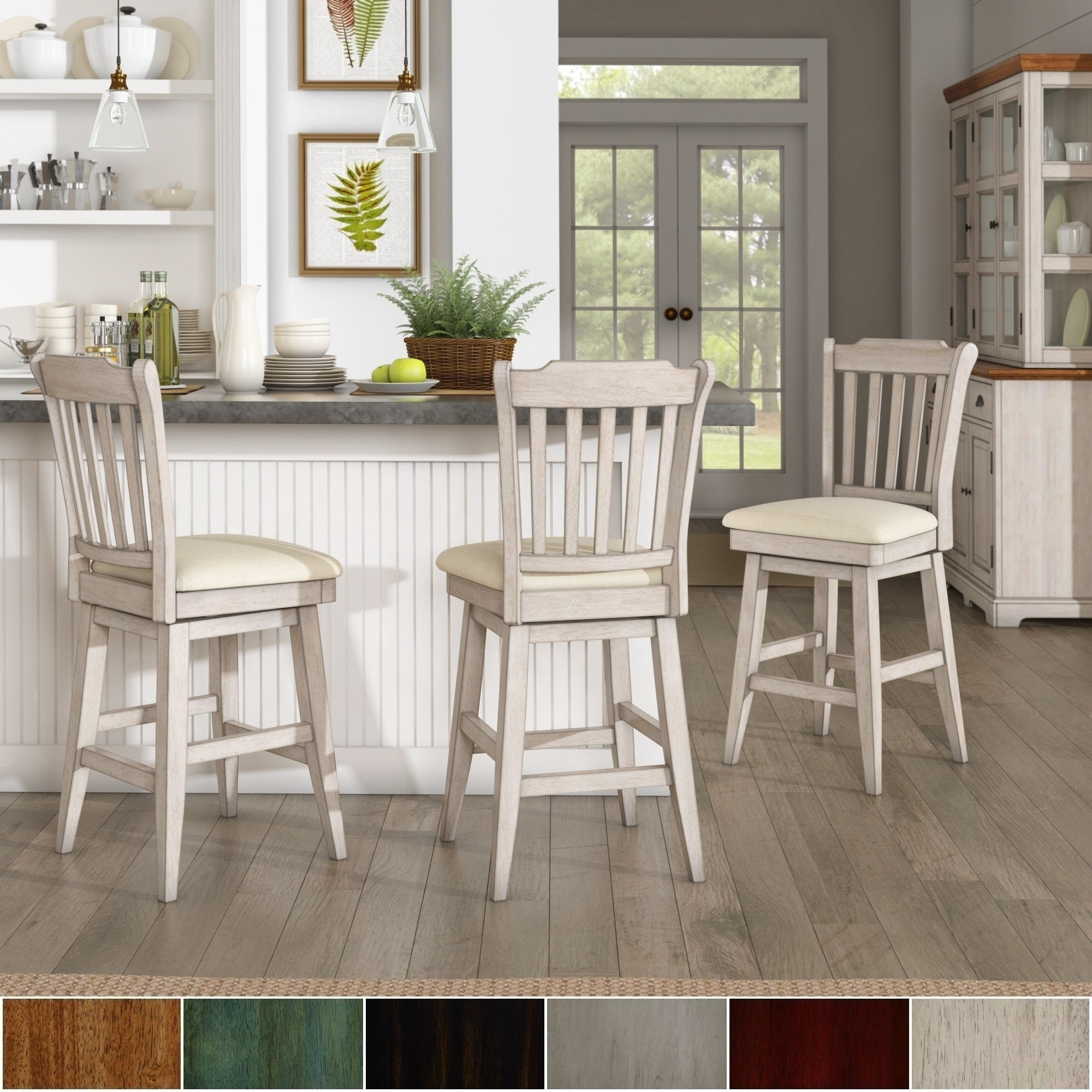 Farmhouse Dining Room & Bar Furniture | Find Great Furniture Deals Inside Most Current Falmer 3 Piece Solid Wood Dining Sets (View 18 of 20)