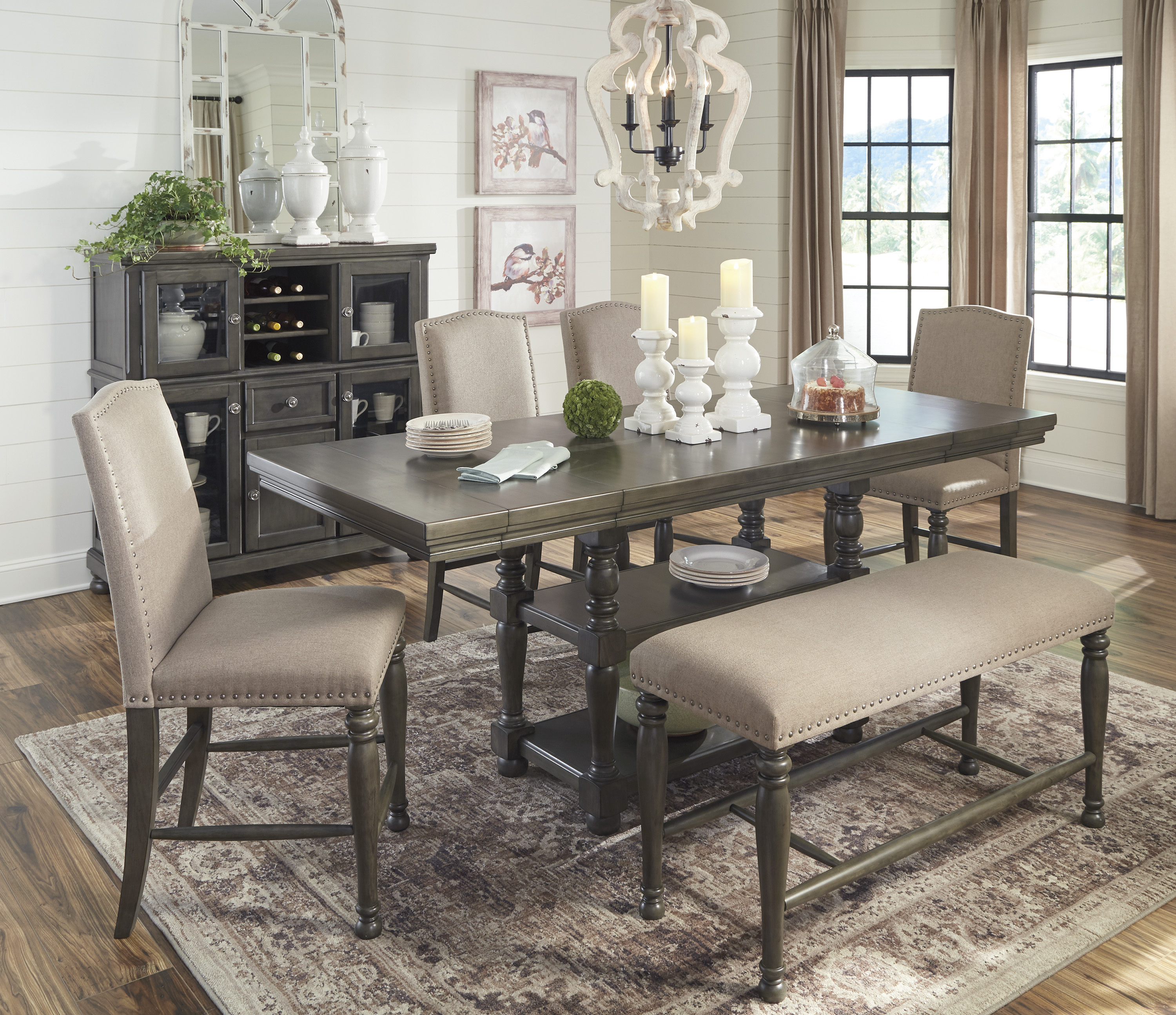 Find Great Deals On Ashley Dining Room Furniture In Philadelphia, Pa With Regard To Most Up To Date West Hill Family Table 3 Piece Dining Sets (View 13 of 20)