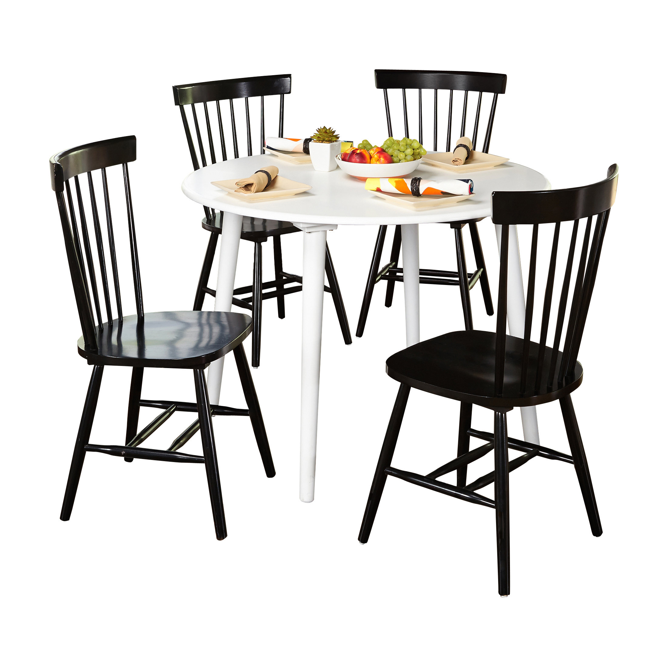 Garlington 5 Piece Dining Set With Regard To Newest Tejeda 5 Piece Dining Sets (View 18 of 20)