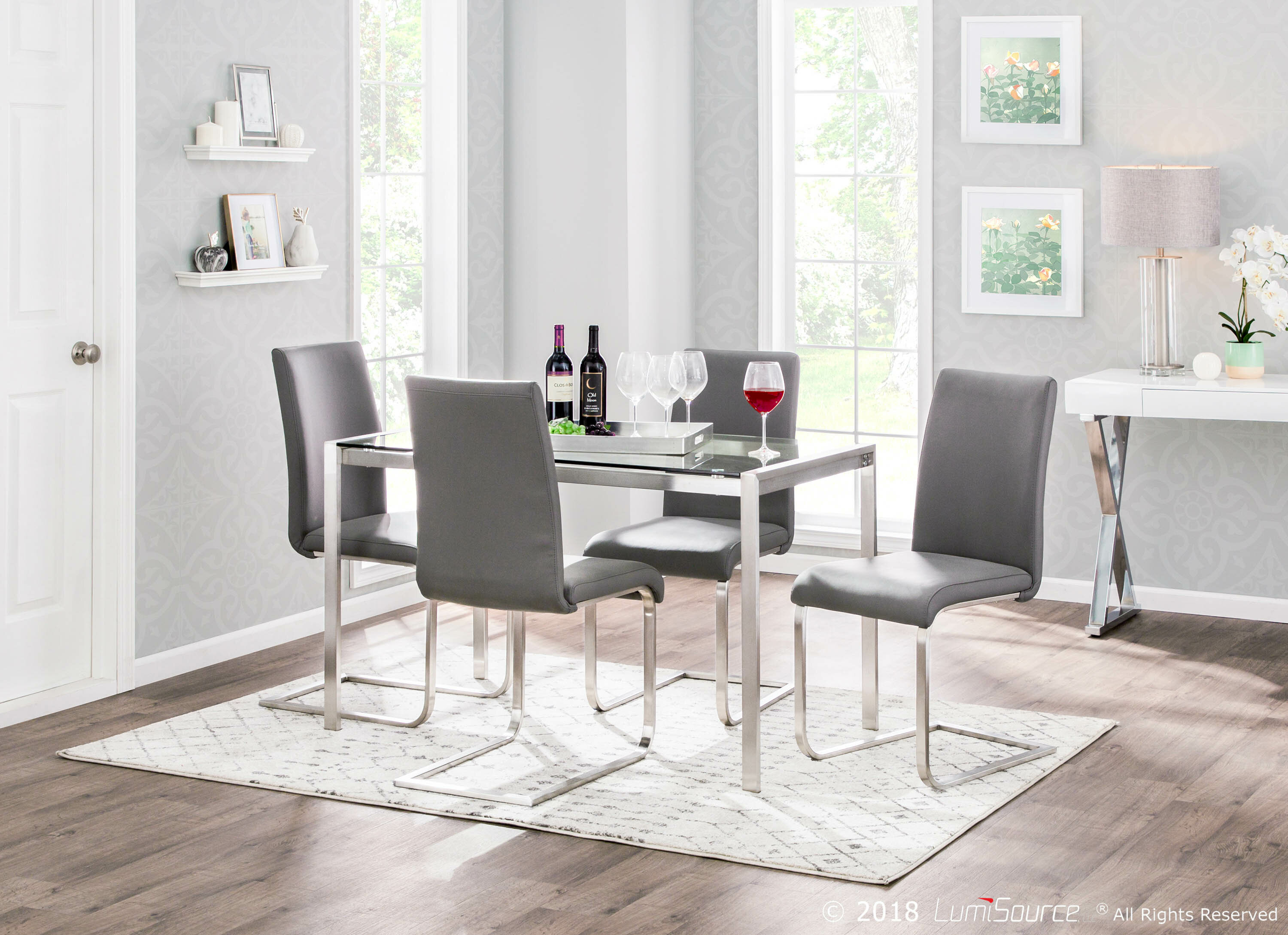 Gary Dining Table Regarding Newest Cincinnati 3 Piece Dining Sets (View 13 of 20)