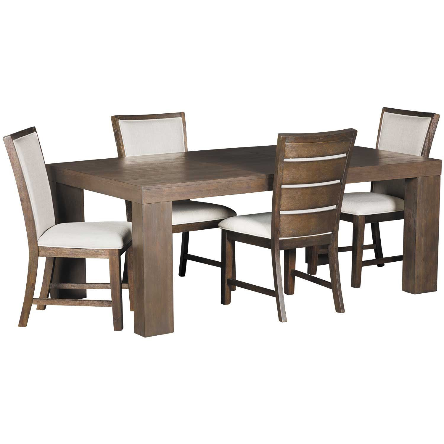 Grady 5 Piece Dining Set With Latest 5 Piece Dining Sets (View 18 of 20)