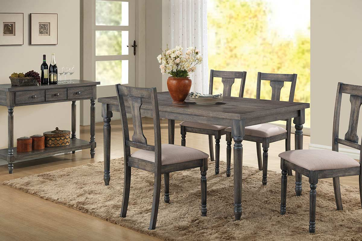 Gray Dining Table Set 2019 Middleport Piece Dining Set Throughout Current Middleport 5 Piece Dining Sets (Photo 15 of 20)