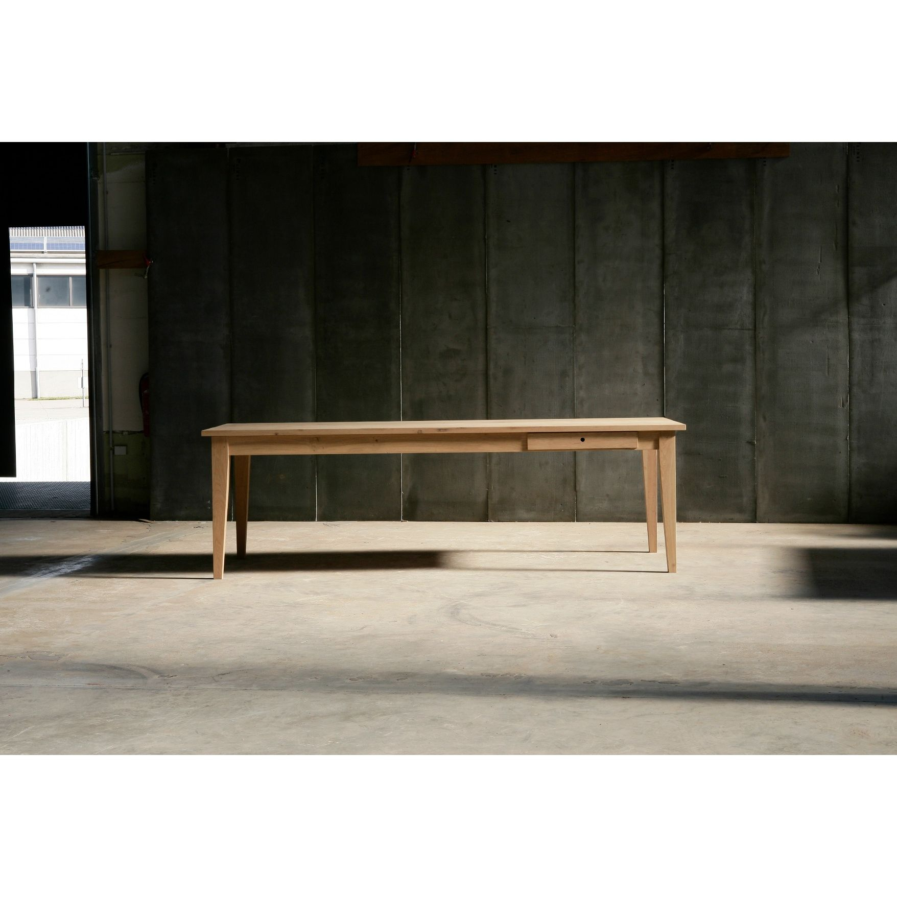 Heerenhuis Farmer Table With Regard To Best And Newest Falmer 3 Piece Solid Wood Dining Sets (View 6 of 20)