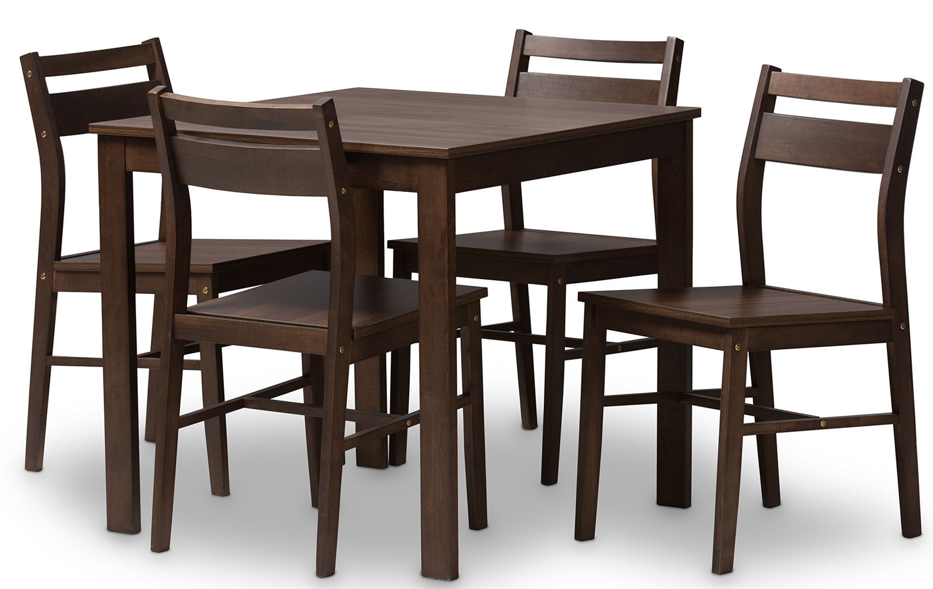 Hersom 5 Piece Dining Set With Current Frida 3 Piece Dining Table Sets (View 8 of 20)