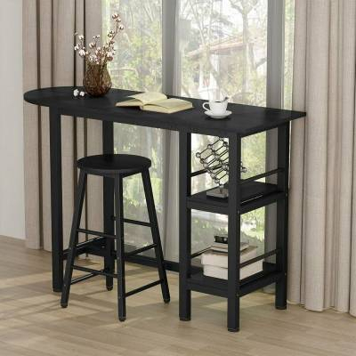 Home & Garden – Furniture: Find Tribesigns Products Online At Pertaining To 2018 Presson 3 Piece Counter Height Dining Sets (Photo 2 of 20)