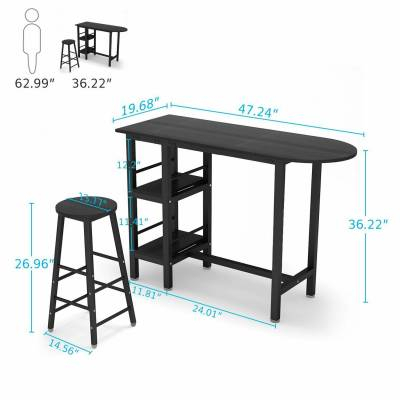 Home & Garden – Furniture: Find Tribesigns Products Online At Pertaining To Most Popular Presson 3 Piece Counter Height Dining Sets (Photo 4 of 20)