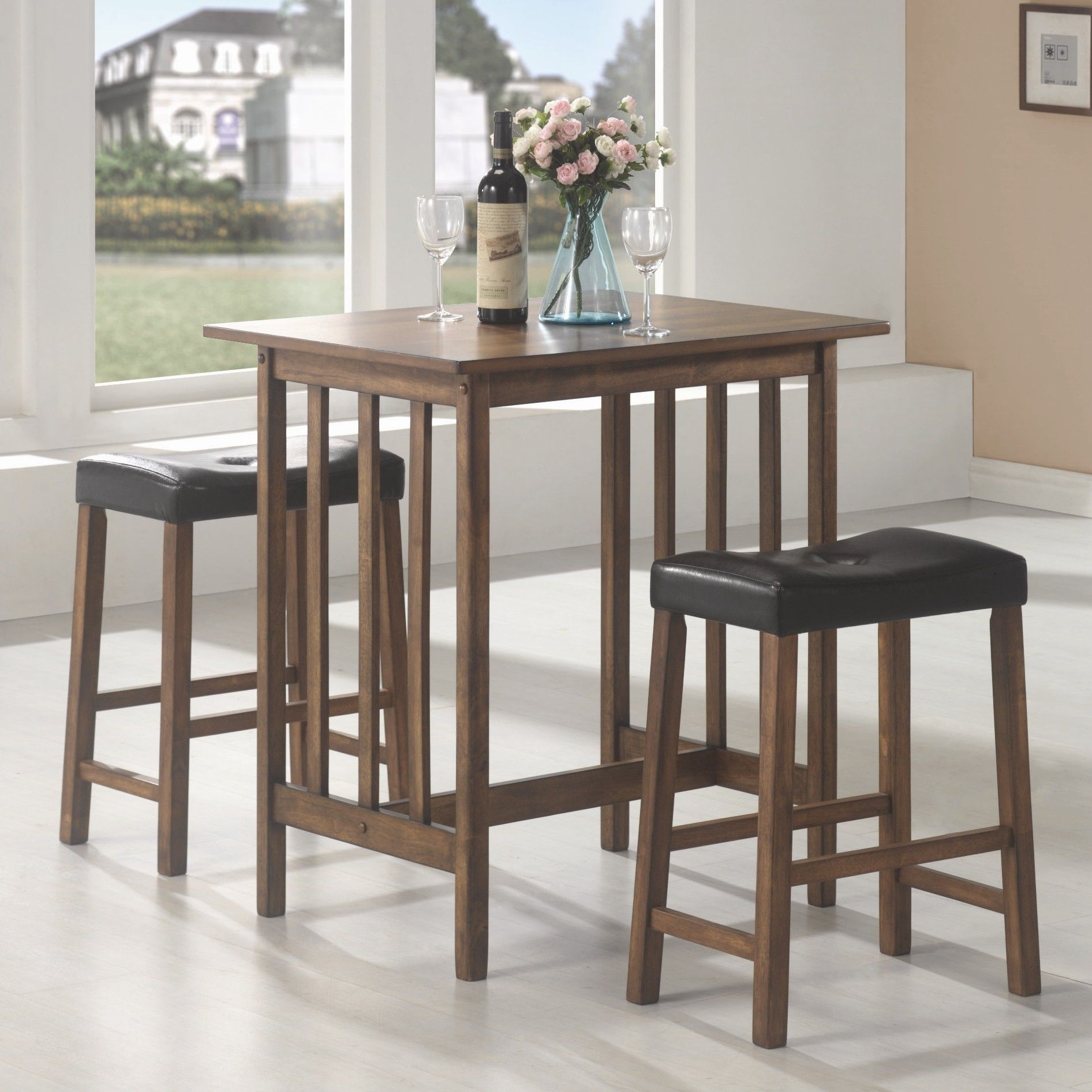 Hood Canal 3 Piece Dining Set | Products | Bar Table Sets, 3 Piece With Most Recently Released Hood Canal 3 Piece Dining Sets (Image 7 of 20)