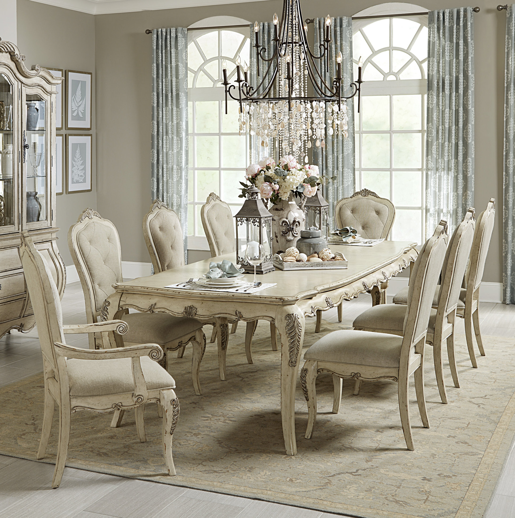 House Of Hampton Mitzel Dining Table With Regard To Most Up To Date Lamotte 5 Piece Dining Sets (Image 7 of 20)