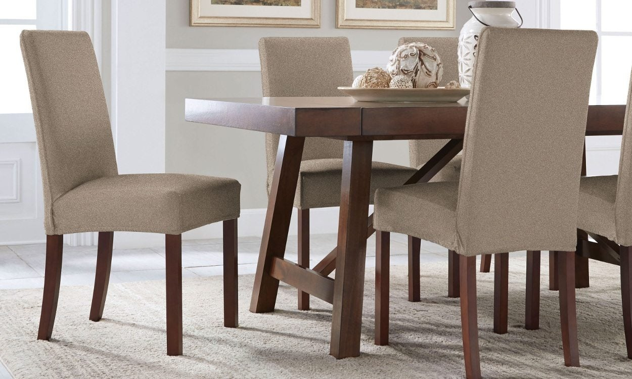 How To Select Seat Covers For Dining Chairs – Overstock With Regard To Most Recent Partin 3 Piece Dining Sets (Photo 13 of 20)