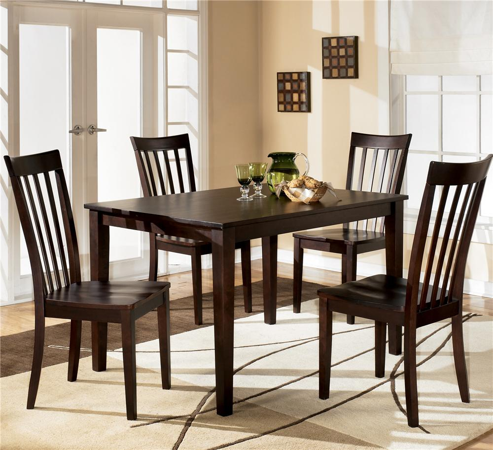 Hyland 5 Piece Dining Set With Rectangular Table And 4 Chairsashley Furniture At Furniture And Appliancemart With Regard To Current 5 Piece Dining Sets (View 10 of 20)