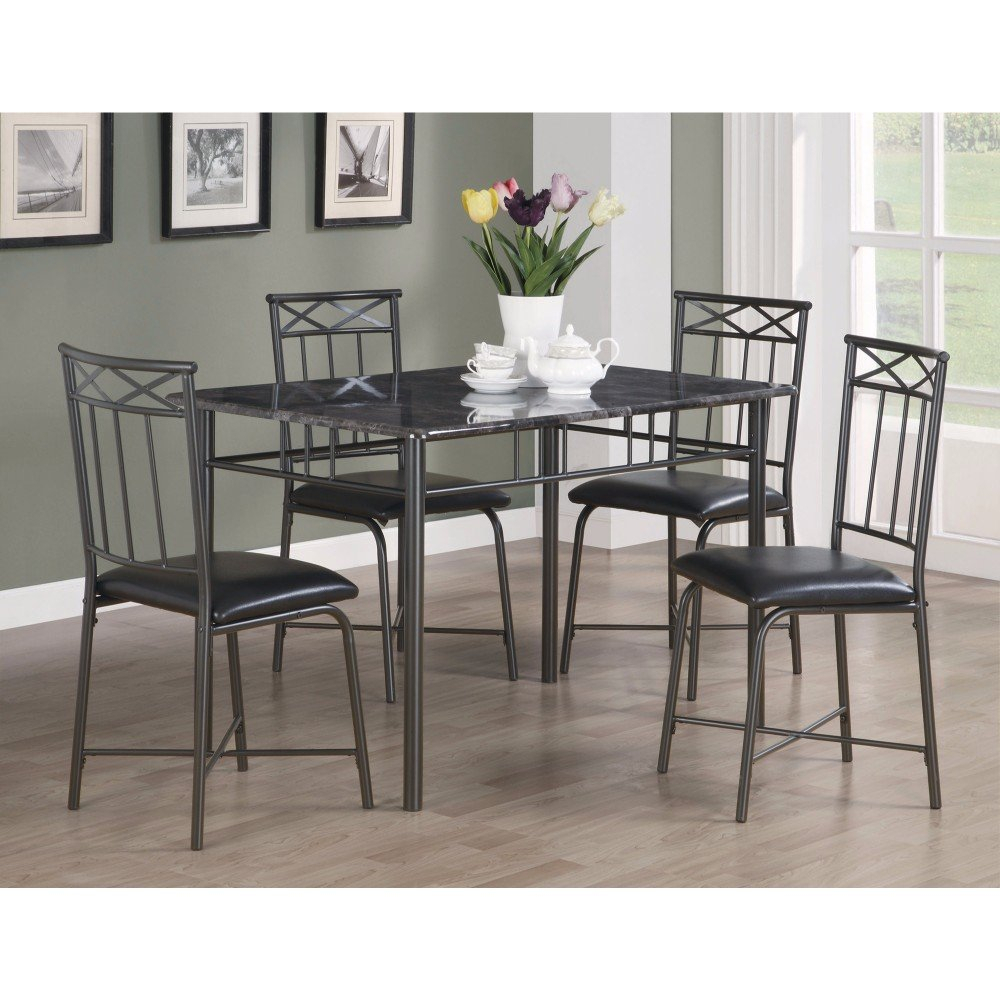 Isbell 5 Piece Dining Set Throughout Current Reinert 5 Piece Dining Sets (View 4 of 20)