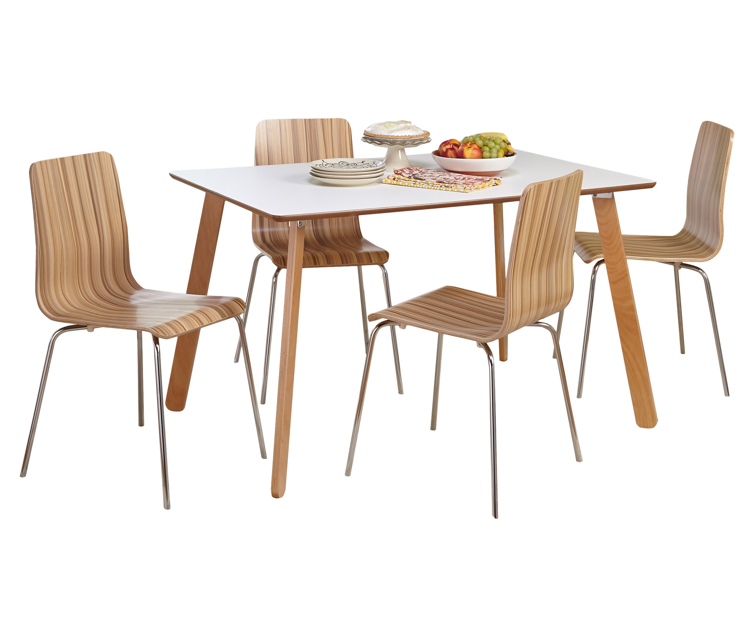 Jaqueline 5 Piece Dining Set With Recent Tejeda 5 Piece Dining Sets (View 15 of 20)