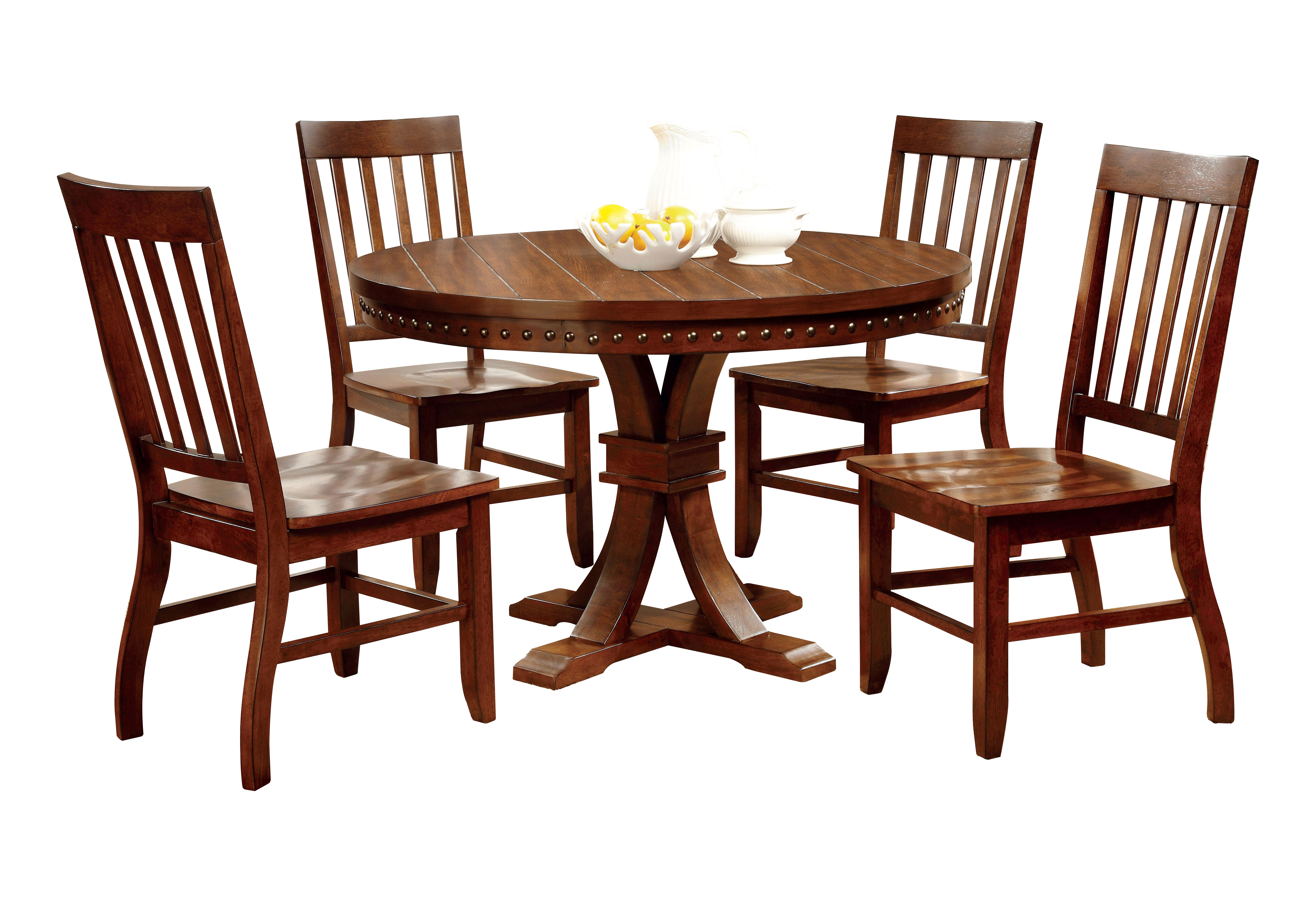 Jared 5 Piece Dining Set Within Newest Jarrod 5 Piece Dining Sets (Image 3 of 20)