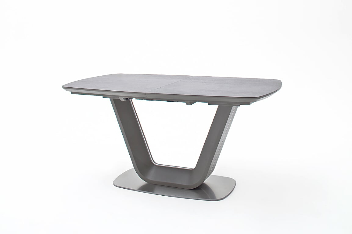 Jarrod Grey And Anthracite Ceramic Extending Dining Table 160Cm Regarding Newest Jarrod 5 Piece Dining Sets (View 13 of 20)