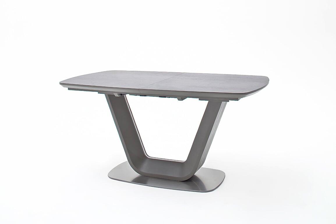 Jarrod Grey And Anthracite Ceramic Extending Dining Table 160Cm Regarding Newest Jarrod 5 Piece Dining Sets (Image 11 of 20)