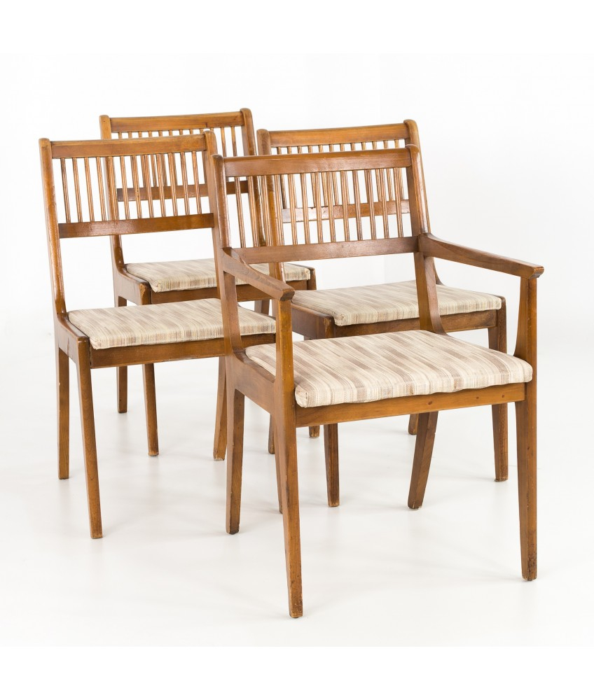 John Van Koert For Drexel Mid Century Dining Chairs – Set Of 4 Throughout Latest John 4 Piece Dining Sets (Image 15 of 20)