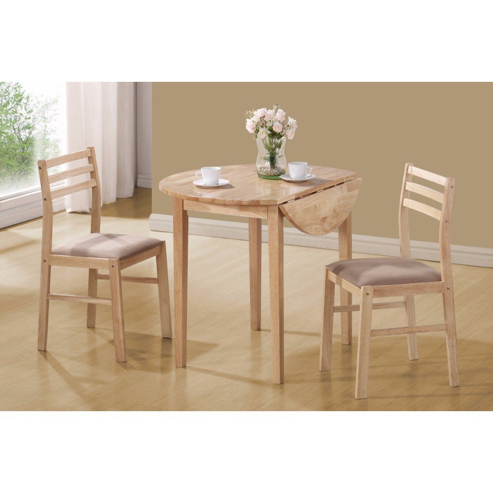 Karns Sophisticated 3 Piece Extendable Breakfast Nook Solid Wood Dining Set Inside Best And Newest Valladares 3 Piece Pub Table Sets (View 6 of 20)