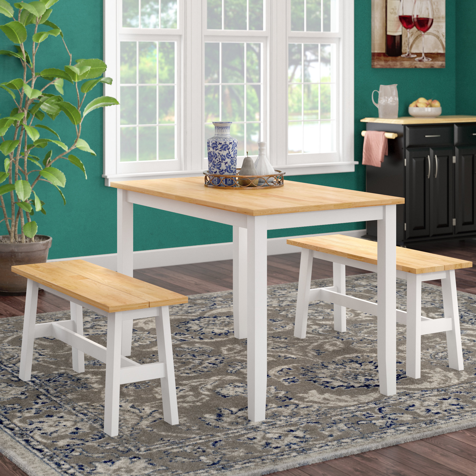 Featured Image of Kaya 3 Piece Dining Sets