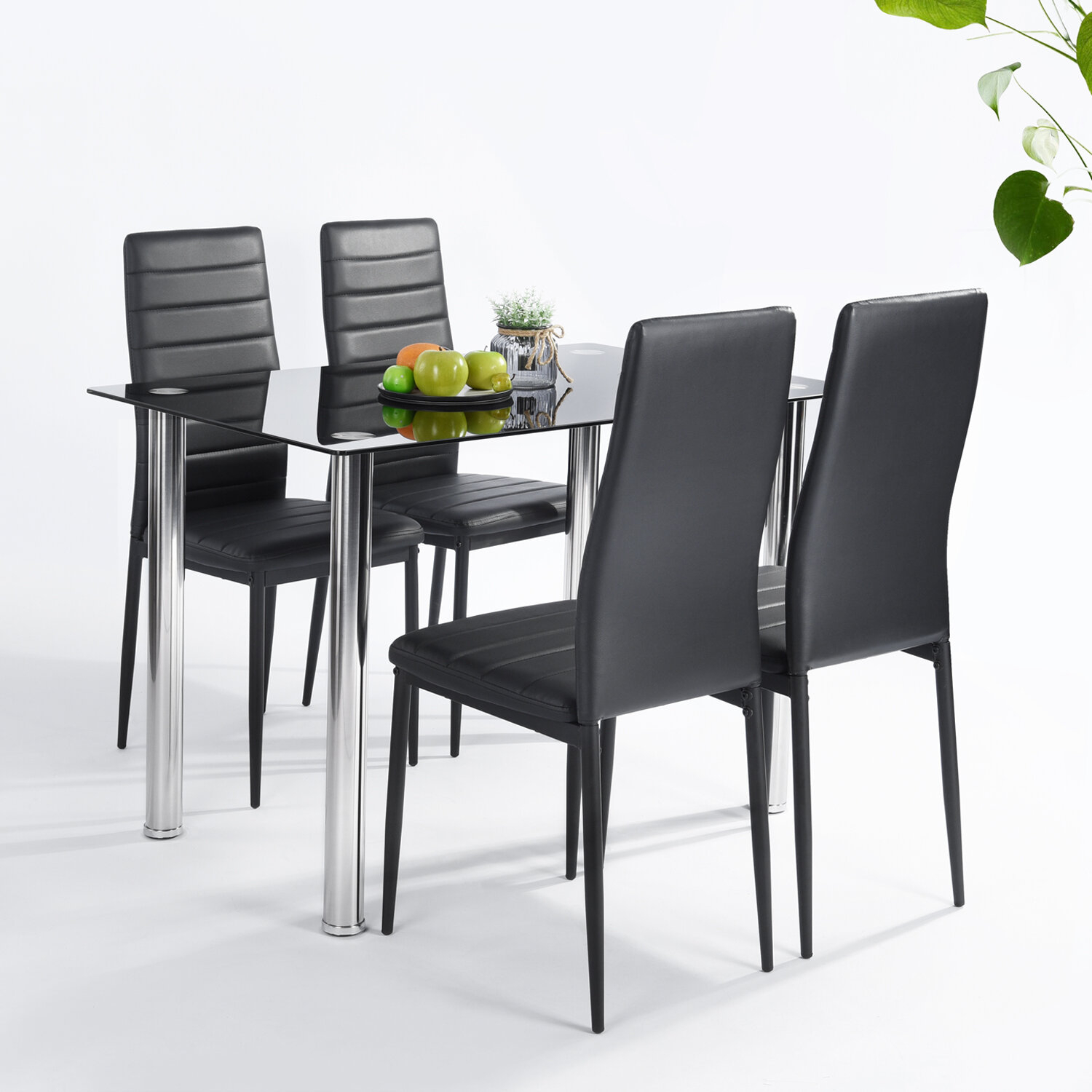 Featured Image of Lamotte 5 Piece Dining Sets