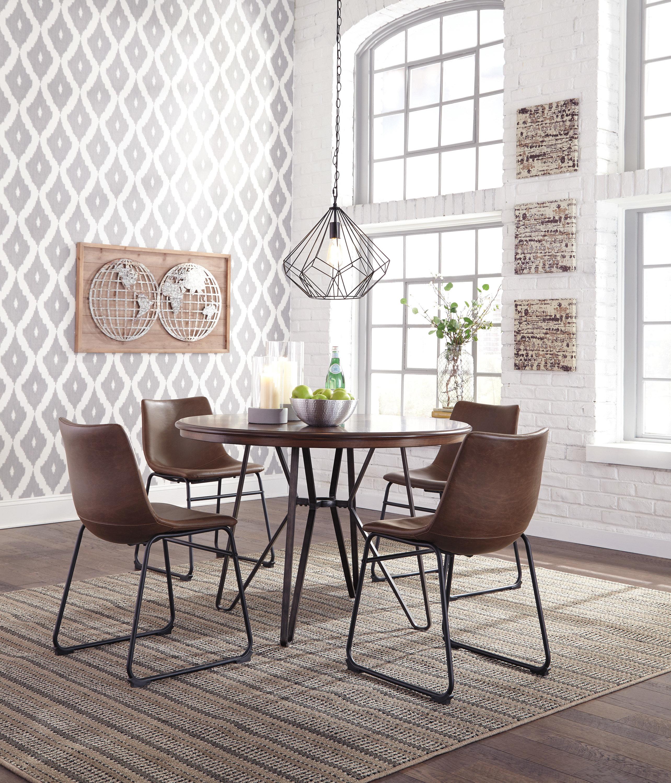 Lanford 5 Piece Dining Set Inside 2018 Middleport 5 Piece Dining Sets (View 18 of 20)
