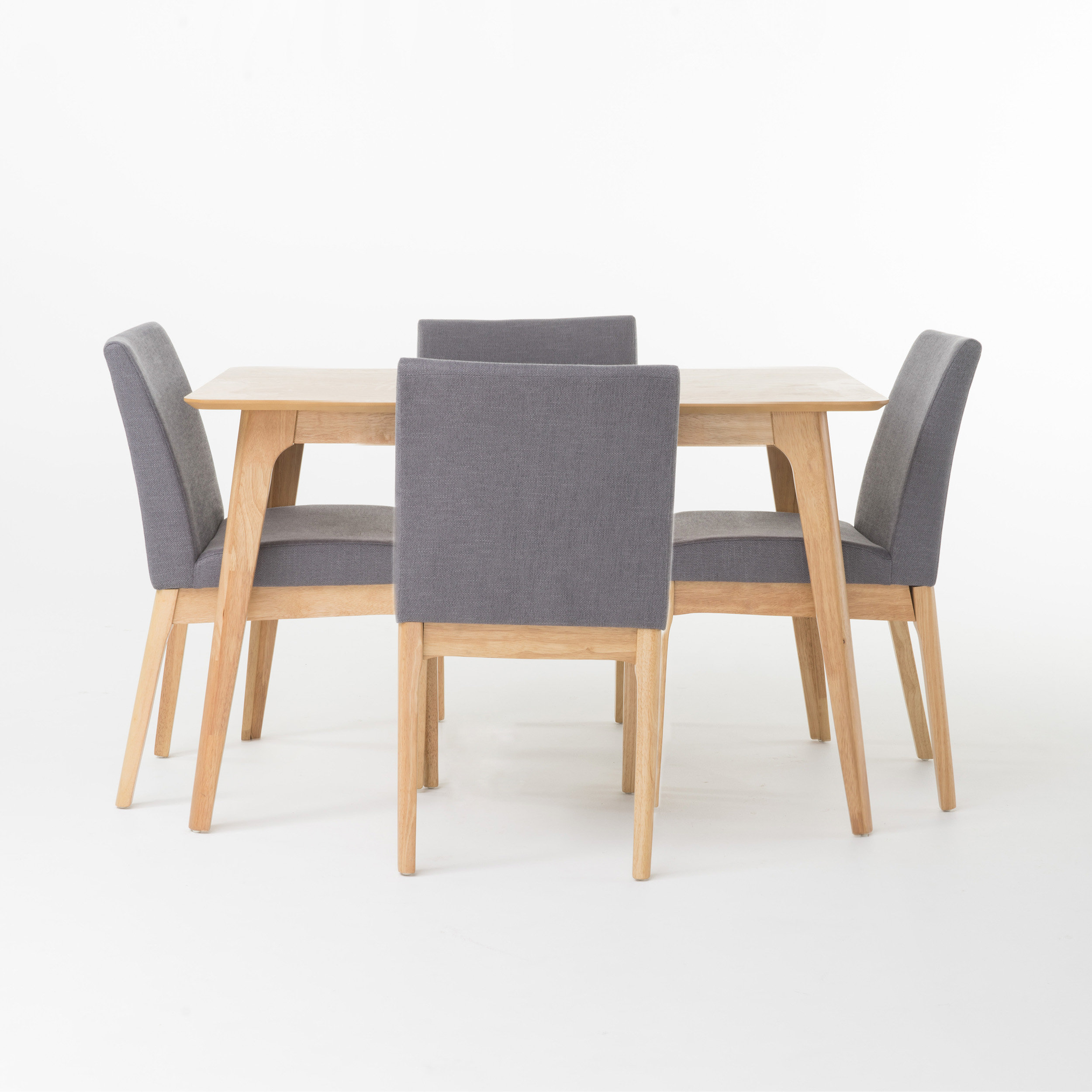 Langley Street Tunis 5 Piece Dining Set In Most Recently Released Calla 5 Piece Dining Sets (Photo 13 of 20)