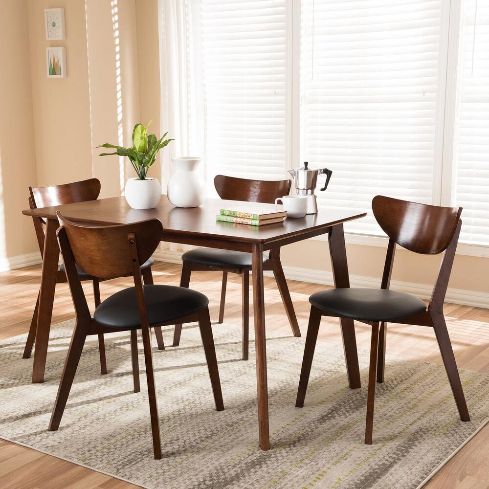 Latitude Run Serpens 5 Piece Dining Set 192439859165 | Ebay With Regard To 2017 Calla 5 Piece Dining Sets (View 18 of 20)