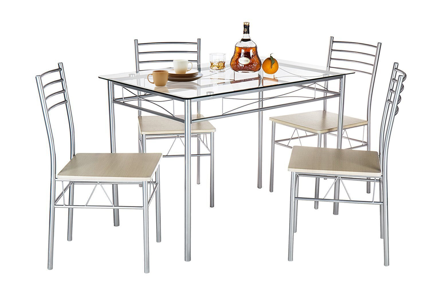 Liles 5 Piece Breakfast Nook Dining Set Regarding Most Popular Reinert 5 Piece Dining Sets (View 2 of 20)