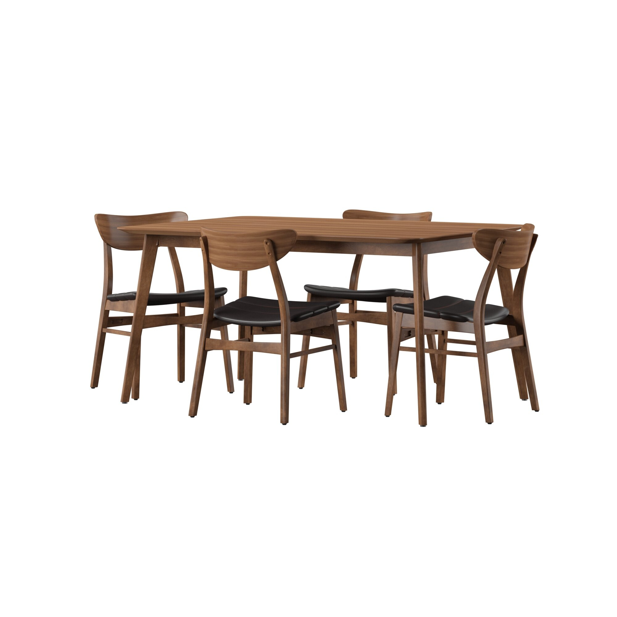 Lillis 5 Piece Dining Set Inside Newest Frida 3 Piece Dining Table Sets (Photo 10 of 20)