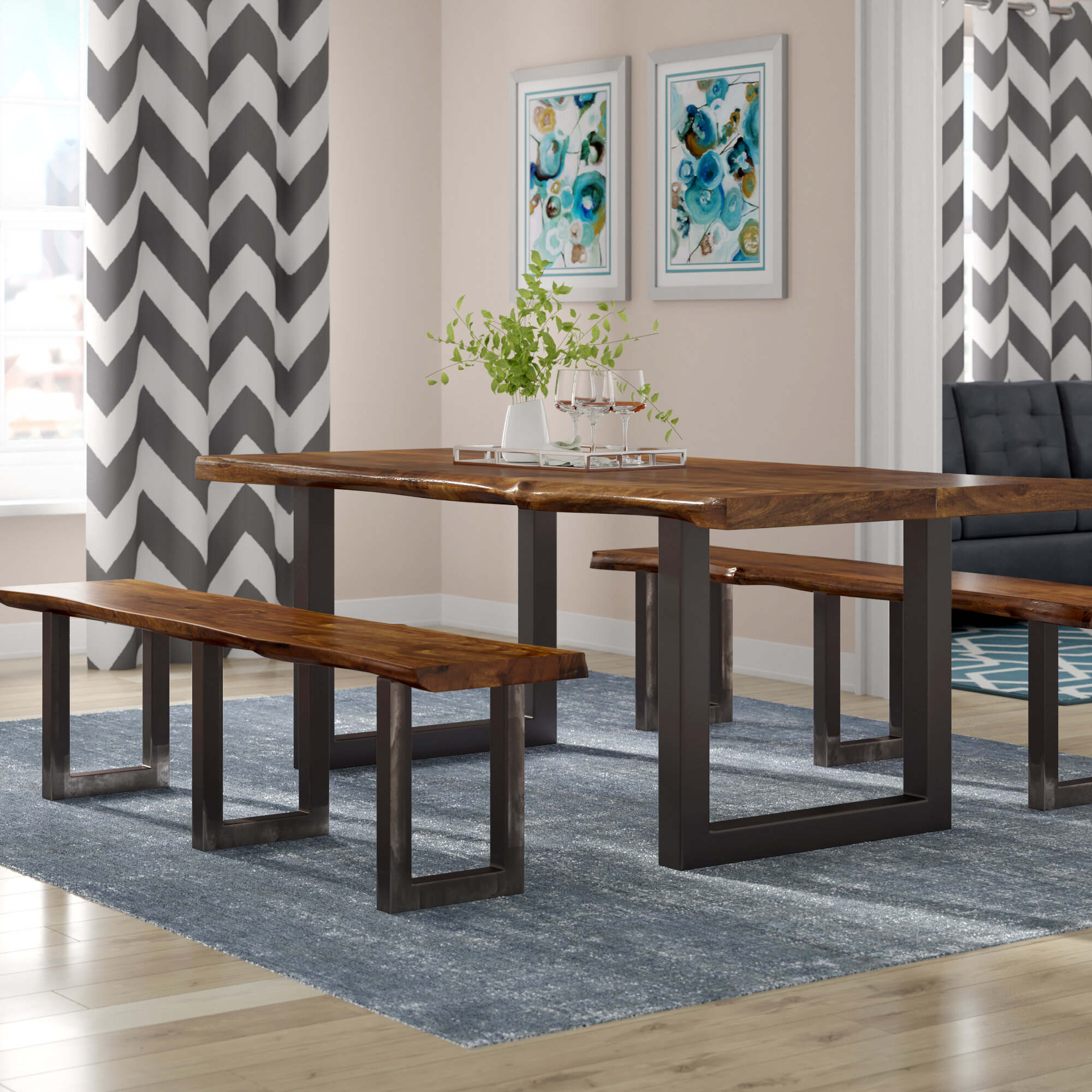 Linde 3 Piece Dining Set Inside Most Up To Date Valladares 3 Piece Pub Table Sets (View 8 of 20)