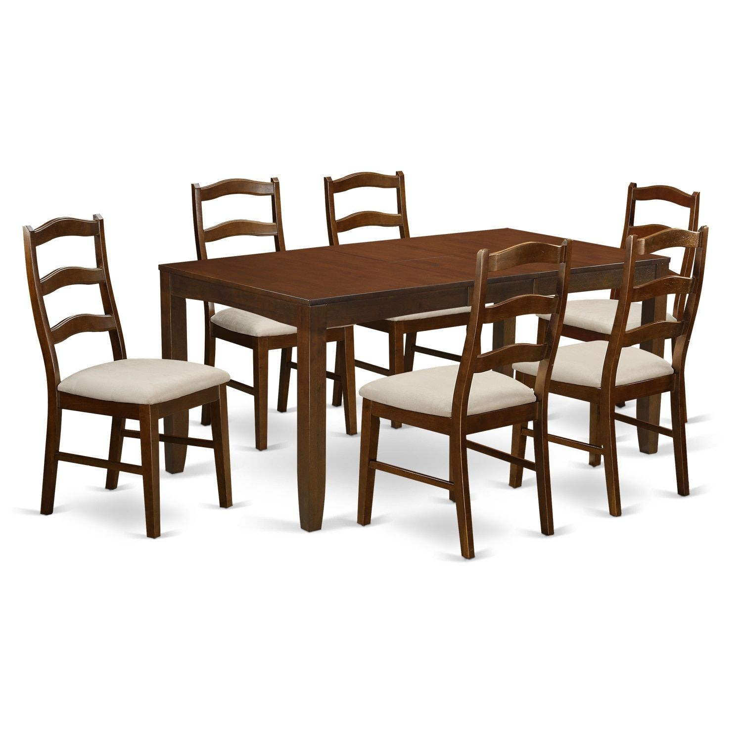 Lynfield Dining Table With One 12In Leaf And 4 Up To 6 Upholstered With Newest West Hill Family Table 3 Piece Dining Sets (View 18 of 20)