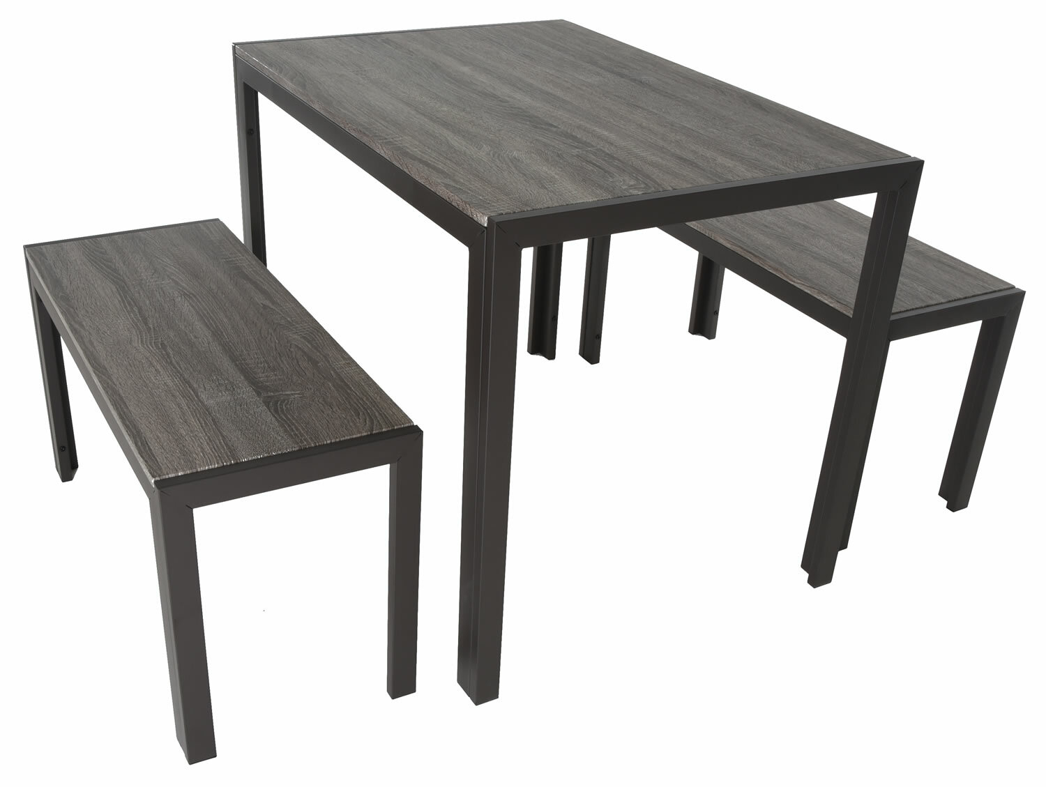 Maloney 3 Piece Breakfast Nook Dining Set Throughout Most Popular Baillie 3 Piece Dining Sets (Photo 12 of 20)