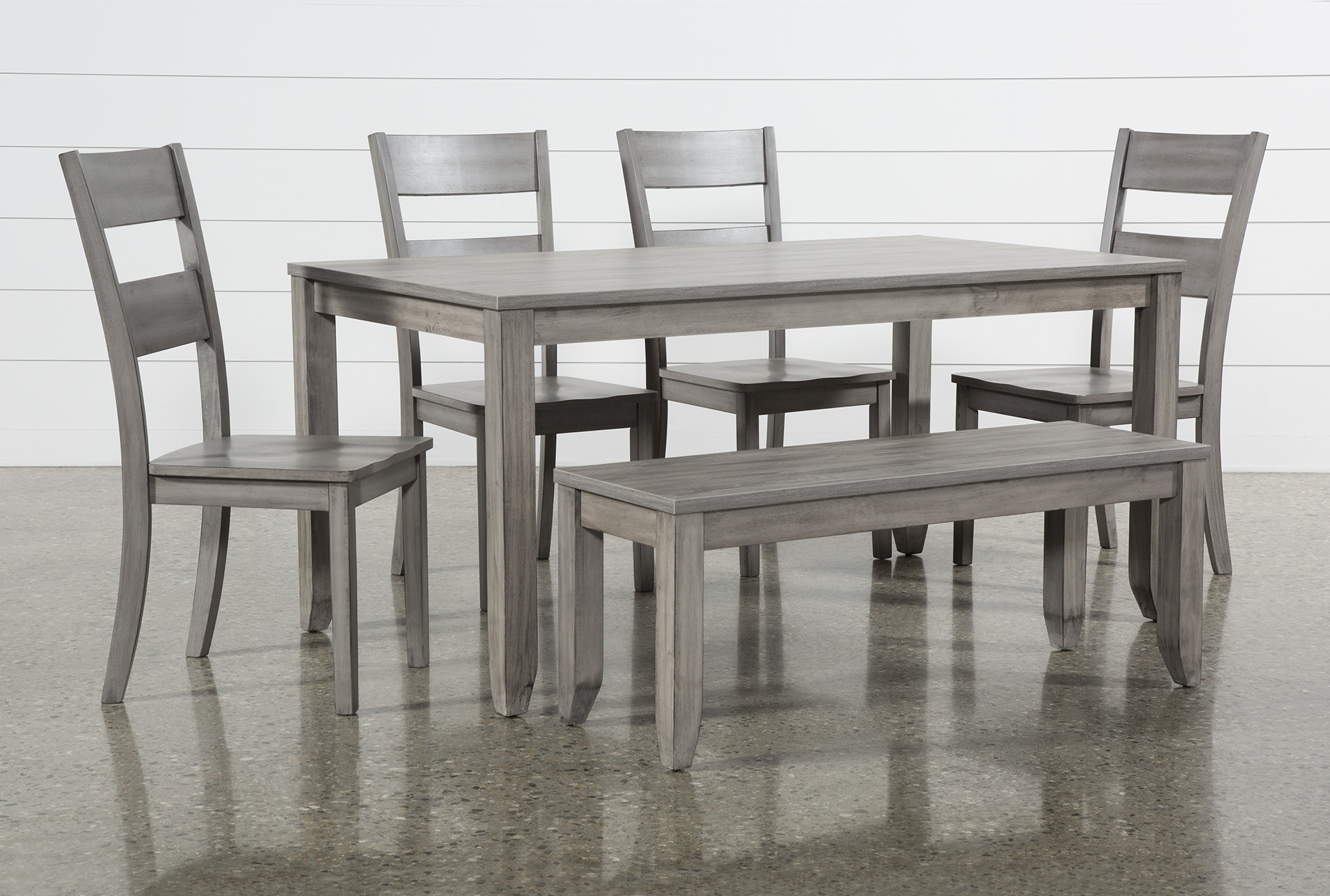 Matias Grey 6 Piece Dining Set In 2019 | Products | Dining, Dining Within 2017 Jarrod 5 Piece Dining Sets (Photo 18 of 20)