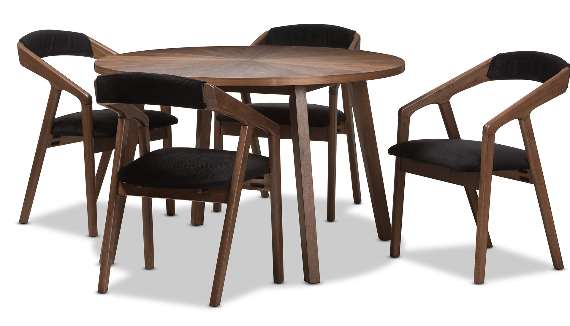 Mid Century Modern Kitchen Table Set – Home Decor Photos Gallery Throughout Most Recent Liles 5 Piece Breakfast Nook Dining Sets (Image 17 of 20)