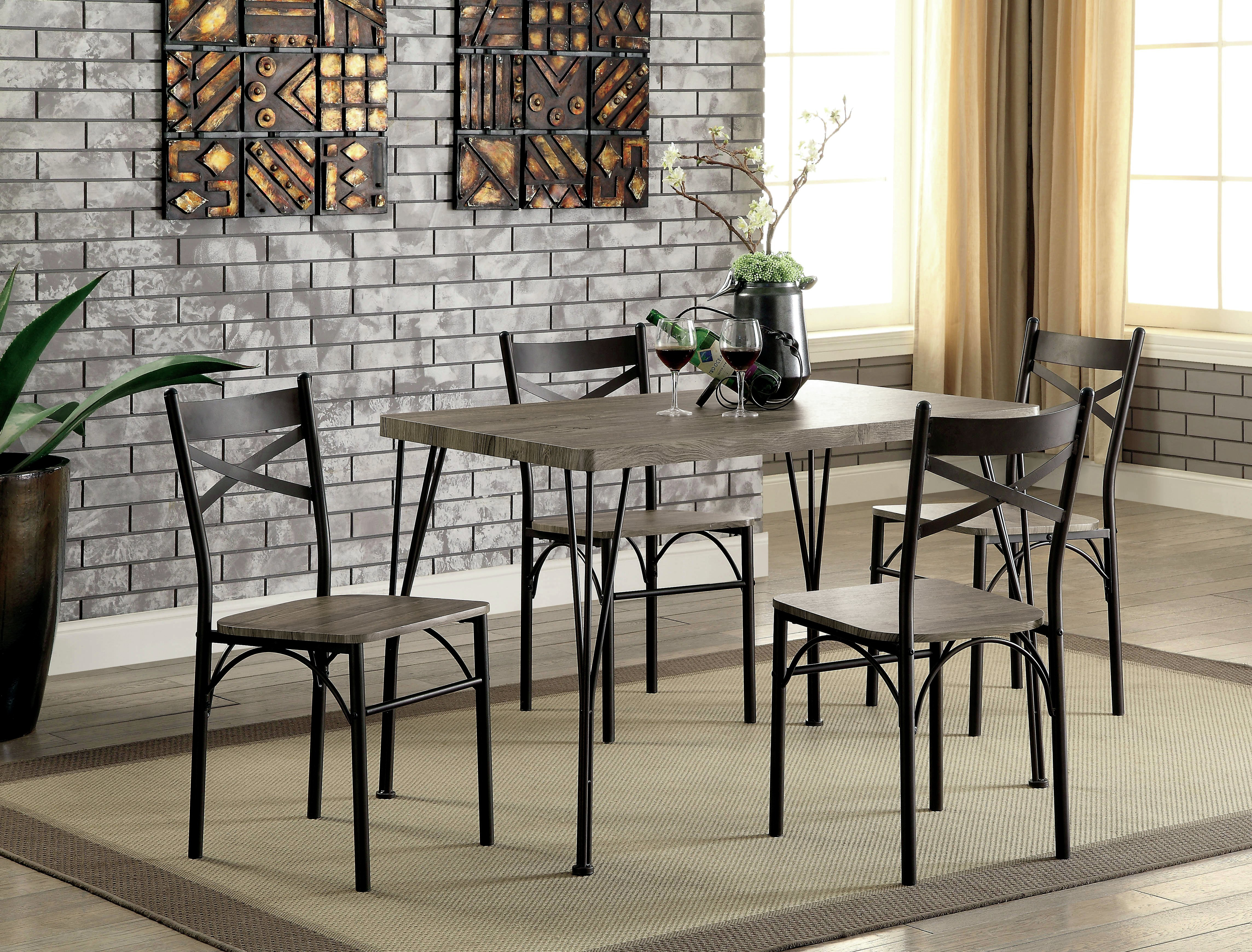 Middleport 5 Piece Dining Set Throughout Newest Jarrod 5 Piece Dining Sets (View 11 of 20)