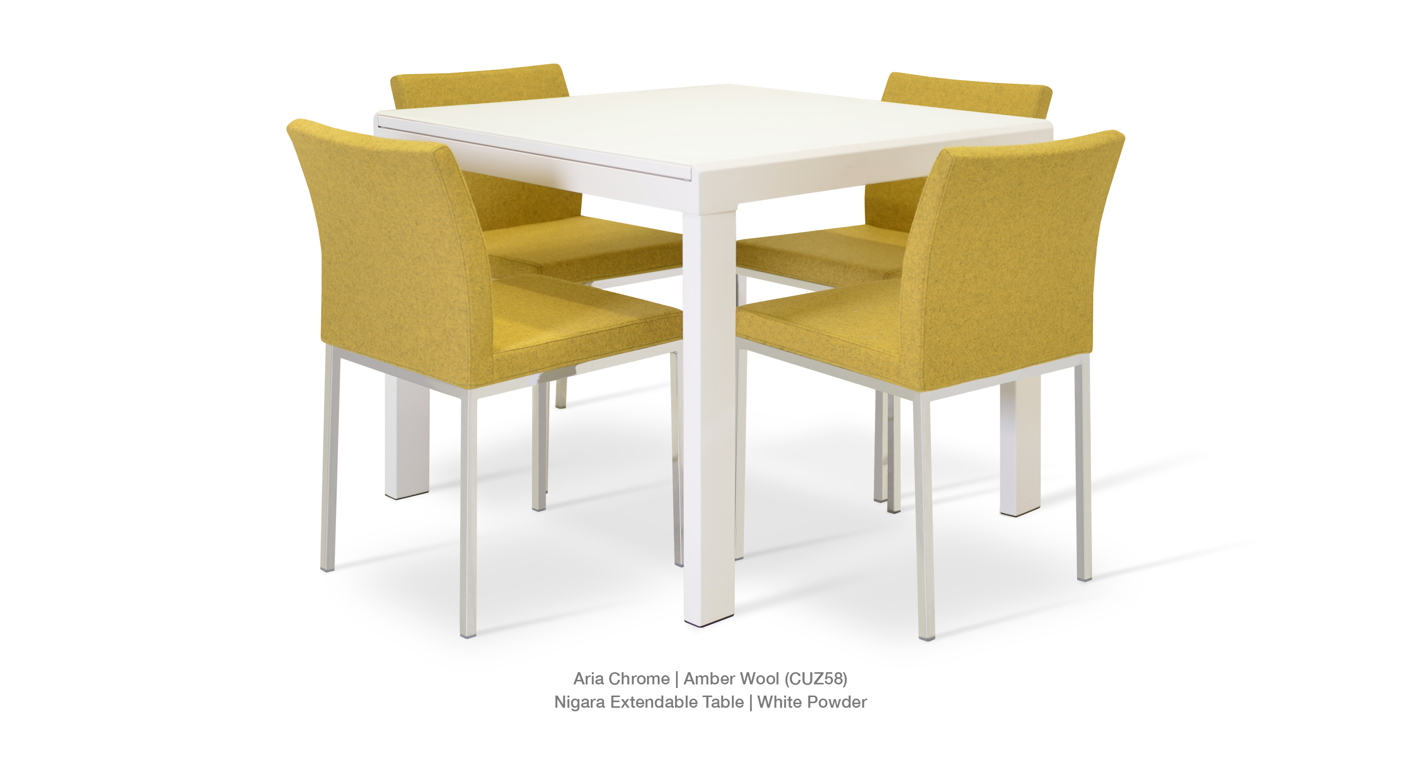 Modern Dining Chairs | Aria Metalsohoconcept Throughout Most Recent Aria 5 Piece Dining Sets (View 15 of 20)