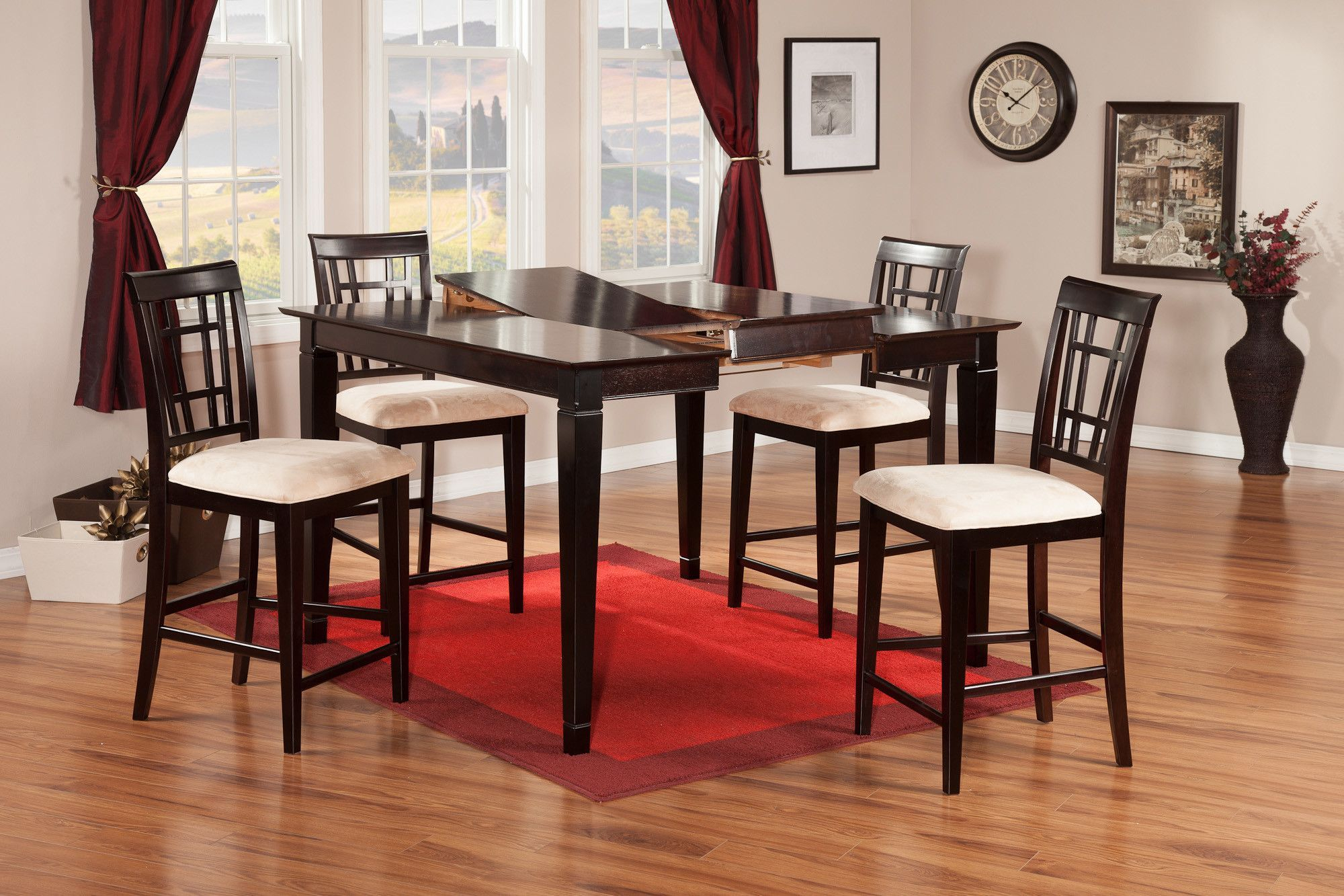 Montego Bay 5 Piece Counter Height Dining Set | Products | Pub Table With Regard To Current Pattonsburg 5 Piece Dining Sets (View 14 of 20)