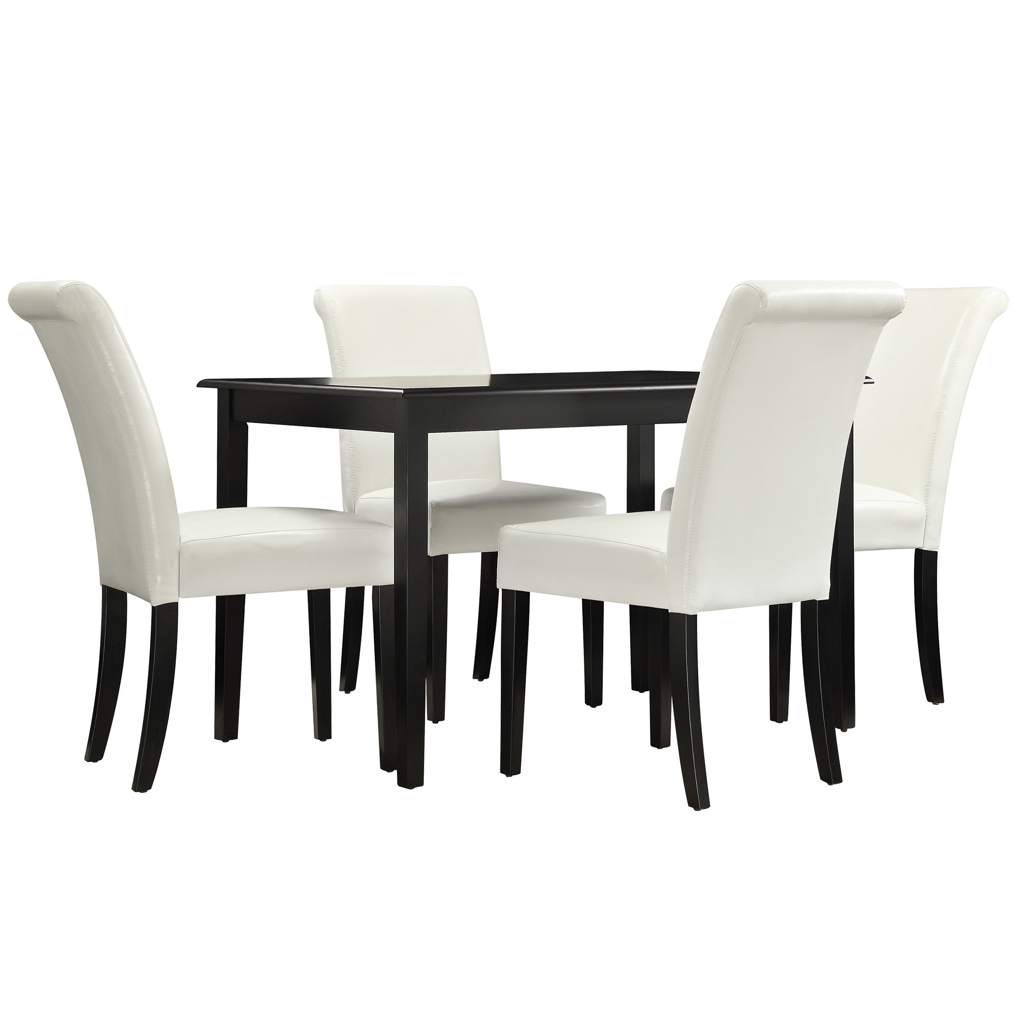 Nordstrom 5 Piece Dining Set With Most Up To Date Anette 3 Piece Counter Height Dining Sets (Photo 9 of 20)