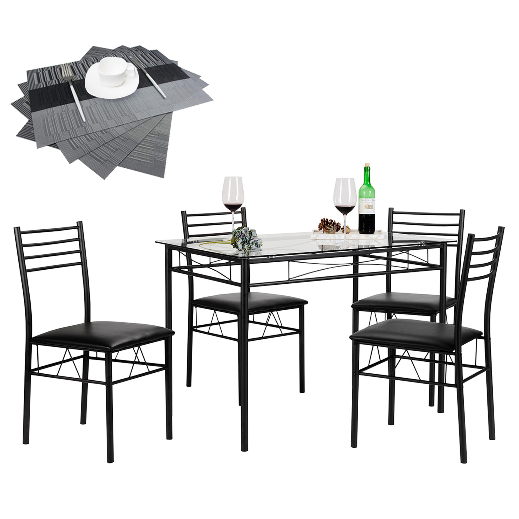 North Reading 5 Piece Dining Table Set Within Newest North Reading 5 Piece Dining Table Sets (View 2 of 20)