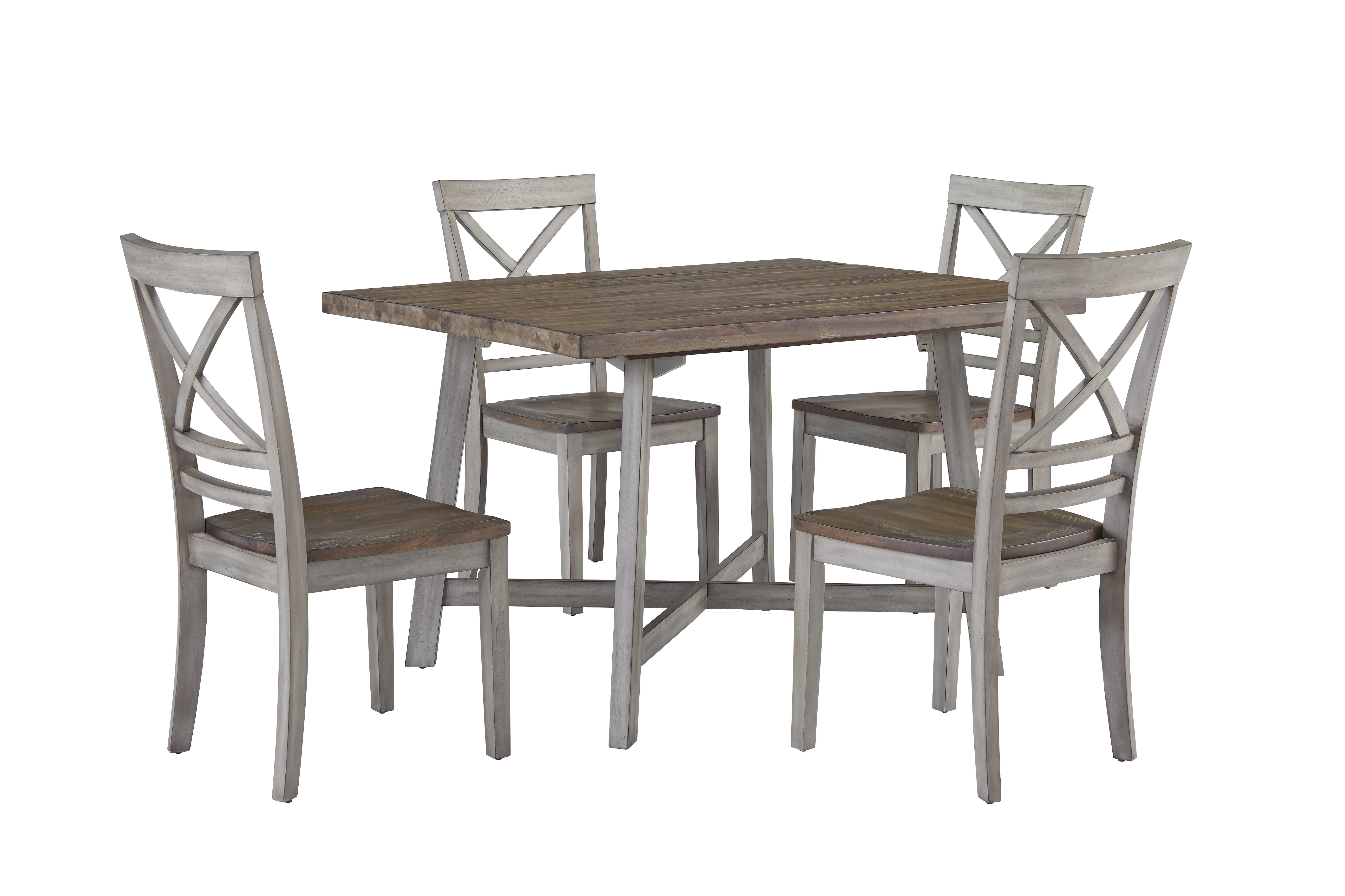 One Allium Way Duplessis 5 Piece Dining Set For Recent Telauges 5 Piece Dining Sets (View 9 of 20)