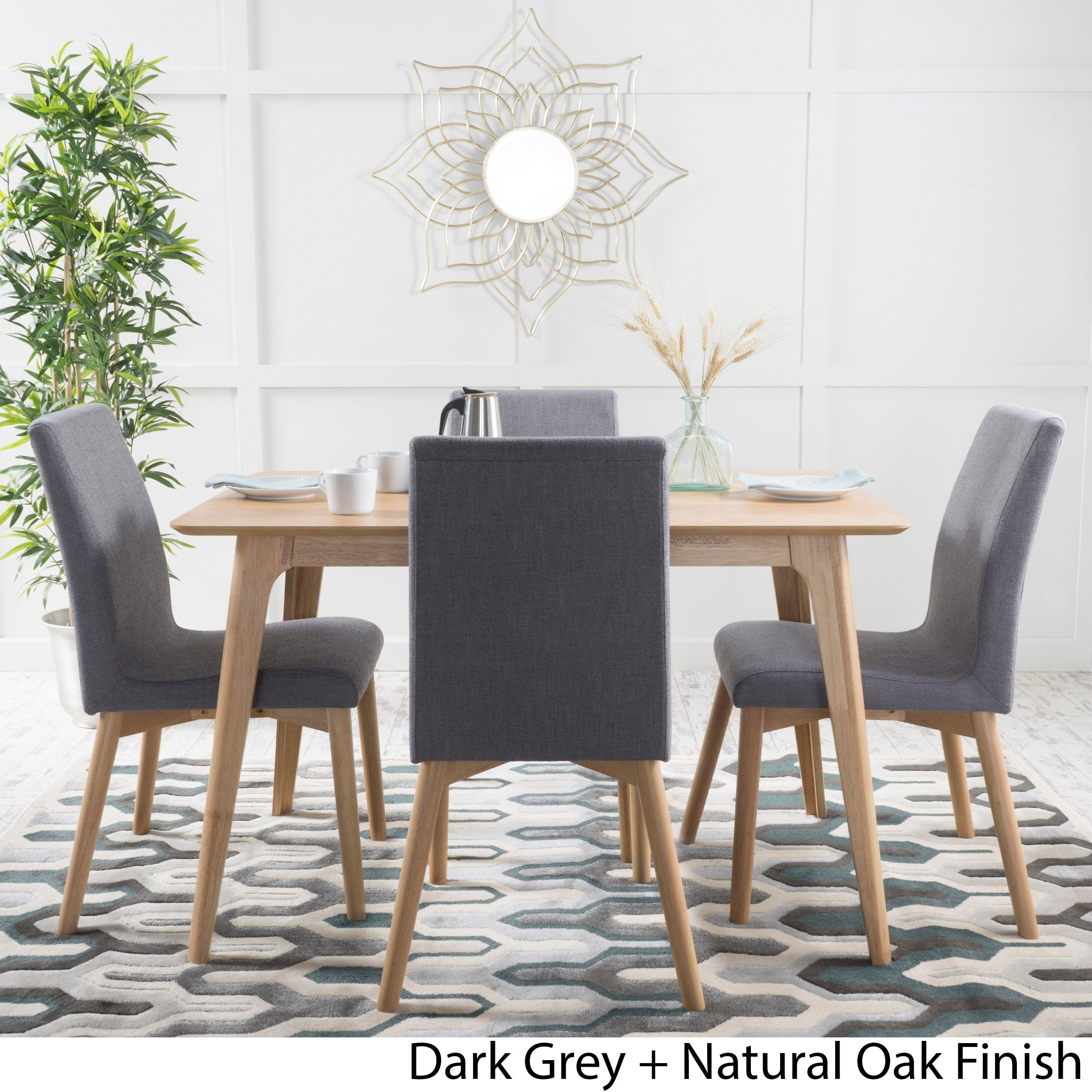 Orrin 5 Piece Wood Rectangular Dining Setchristopher Knight Home Within Most Current Calla 5 Piece Dining Sets (View 10 of 20)