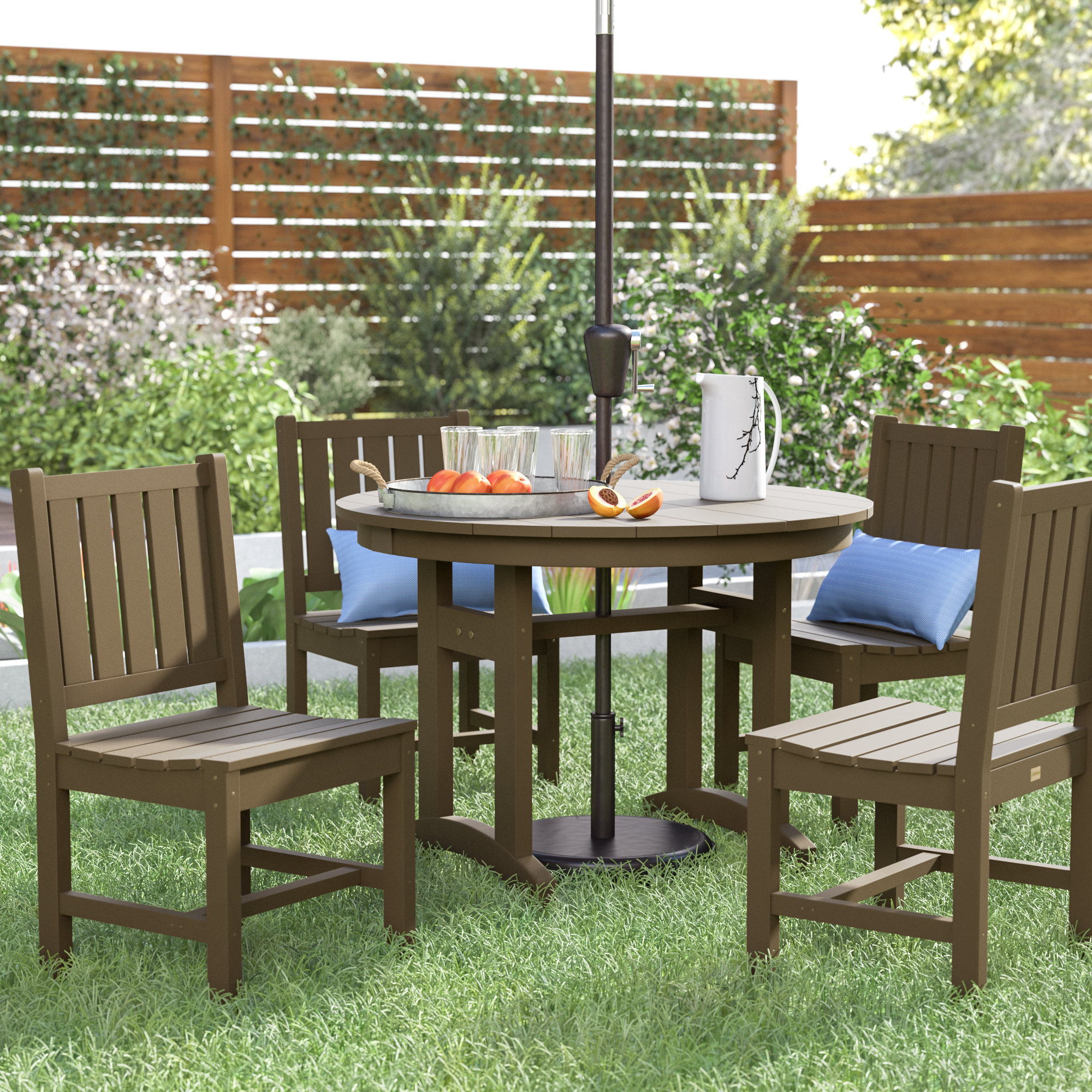 Osborn 5 Piece Dining Set Intended For Newest Anette 3 Piece Counter Height Dining Sets (View 11 of 20)