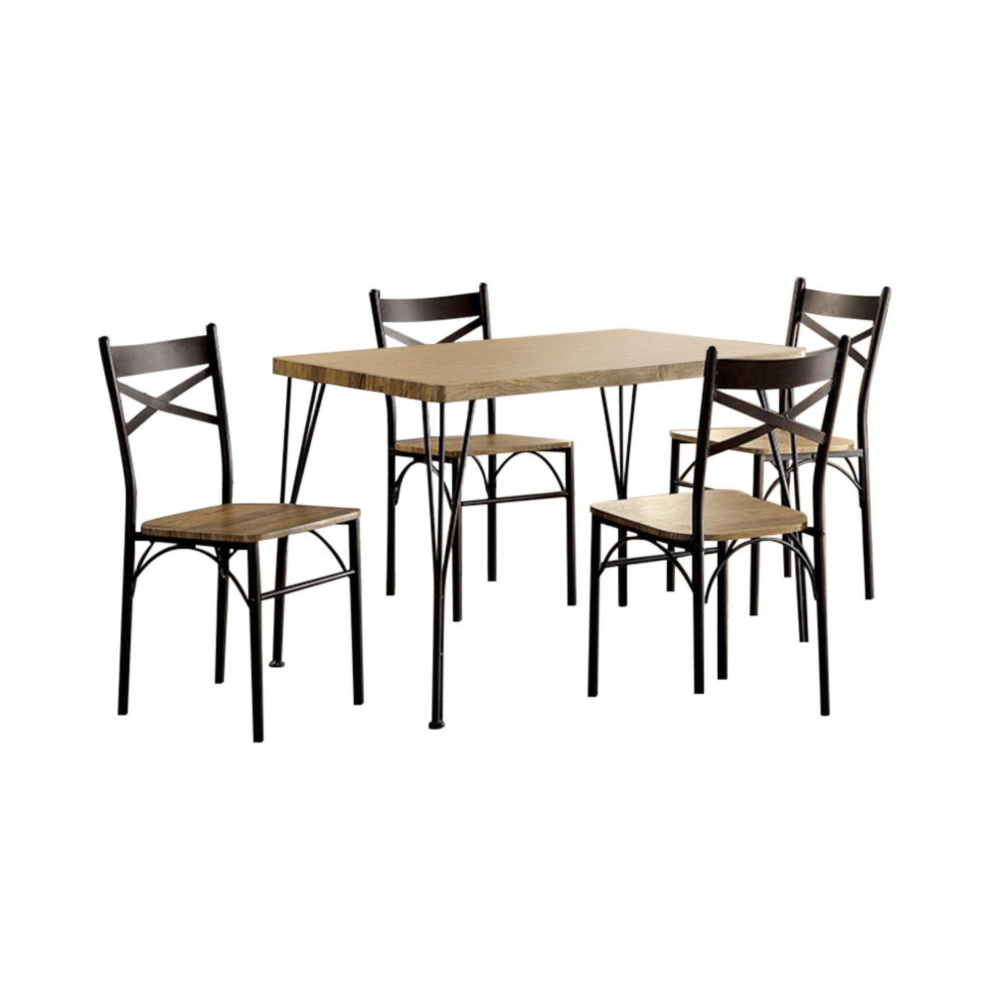 Owasco 5 Piece Dining Set With Regard To Best And Newest Casiano 5 Piece Dining Sets (View 5 of 20)