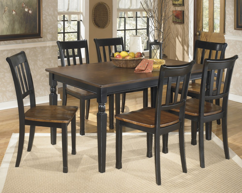 Owingsville Rectangular Dining Room Table & 6 Side Chairs With Regard To Most Recent Cargo 5 Piece Dining Sets (View 10 of 20)