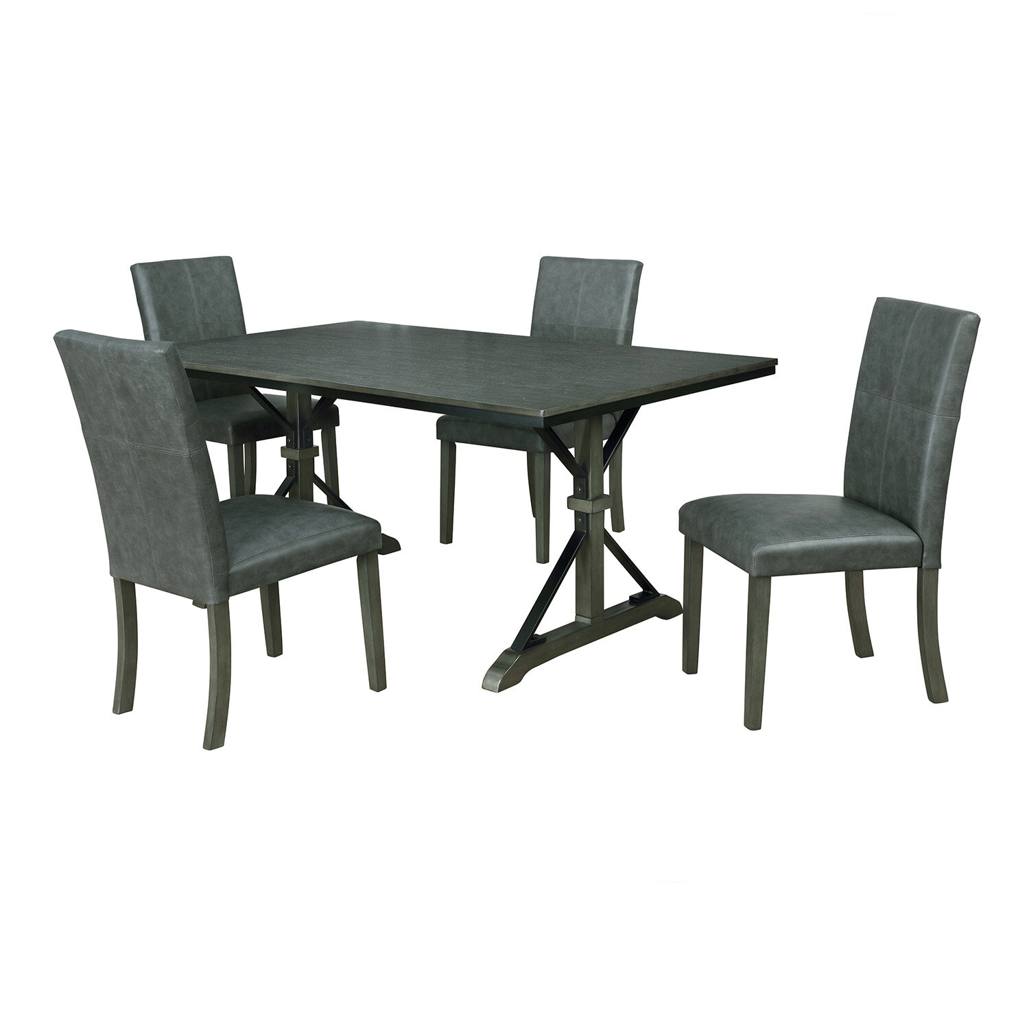 Palou 5 Piece Dining Set Throughout Recent Queener 5 Piece Dining Sets (View 3 of 20)