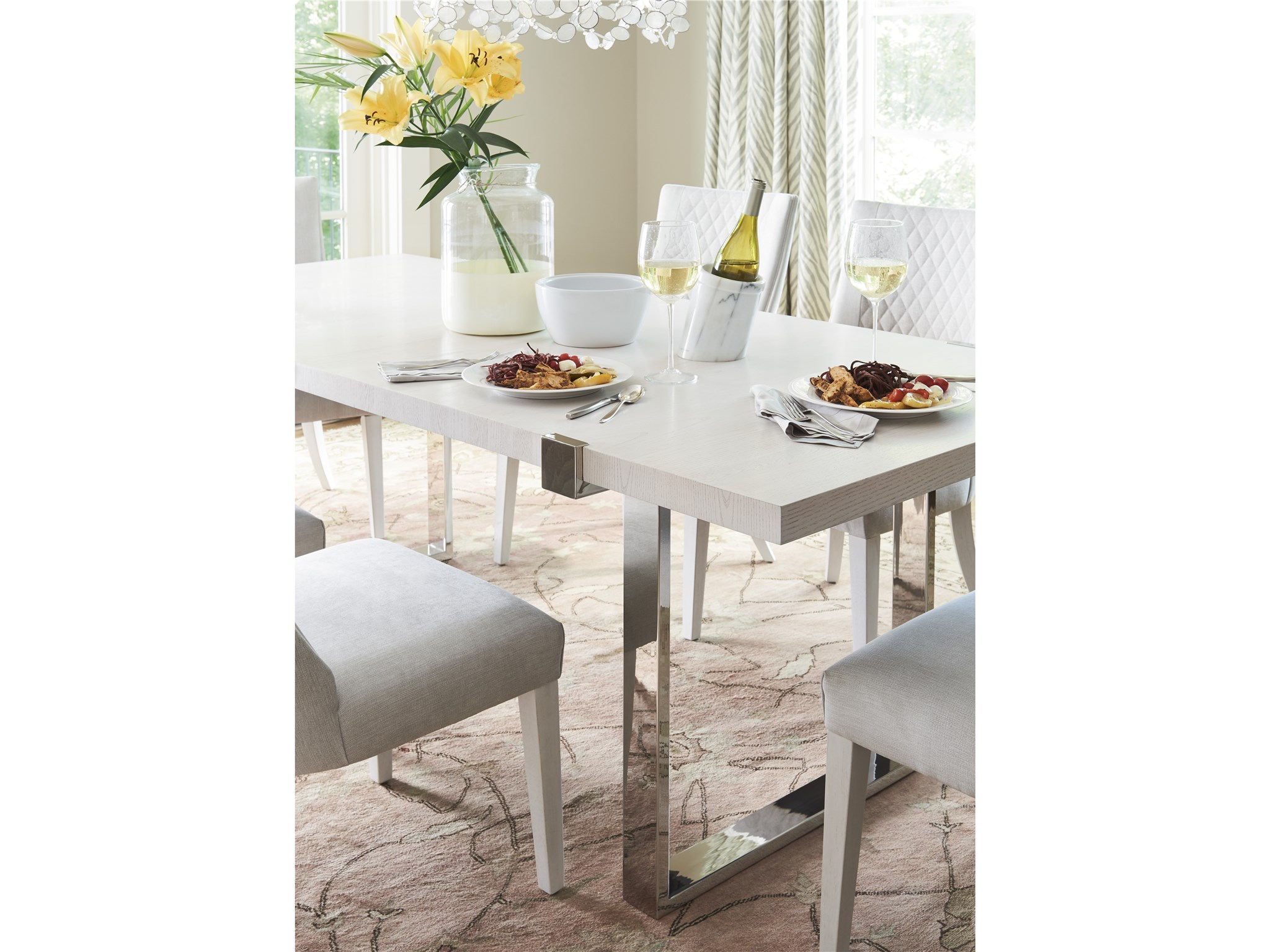 Paradox Paradox Dining Table | Universal Furniture Within Most Current Giles 3 Piece Dining Sets (View 19 of 20)