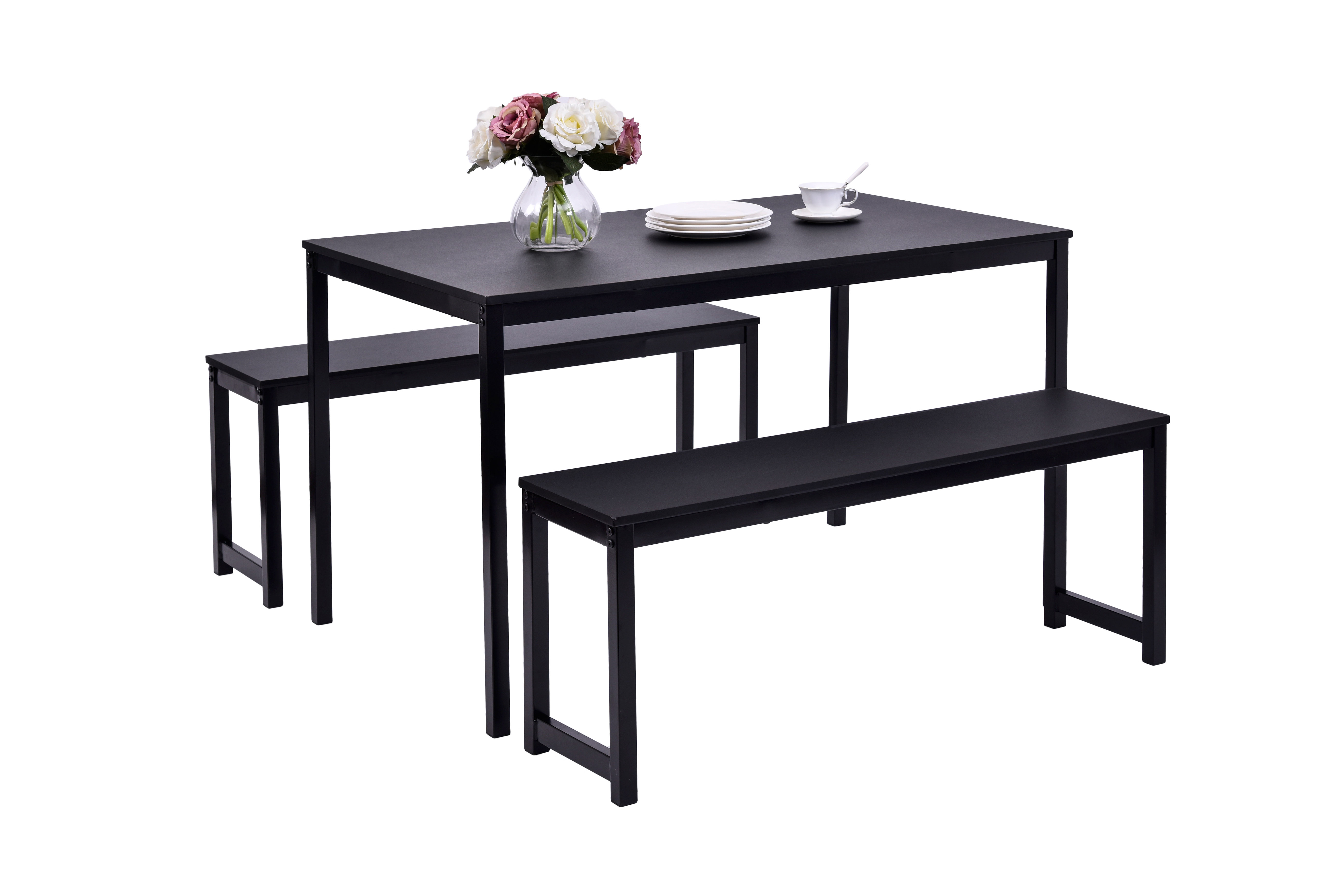Partin 3 Piece Dining Set For Latest Partin 3 Piece Dining Sets (Photo 1 of 20)
