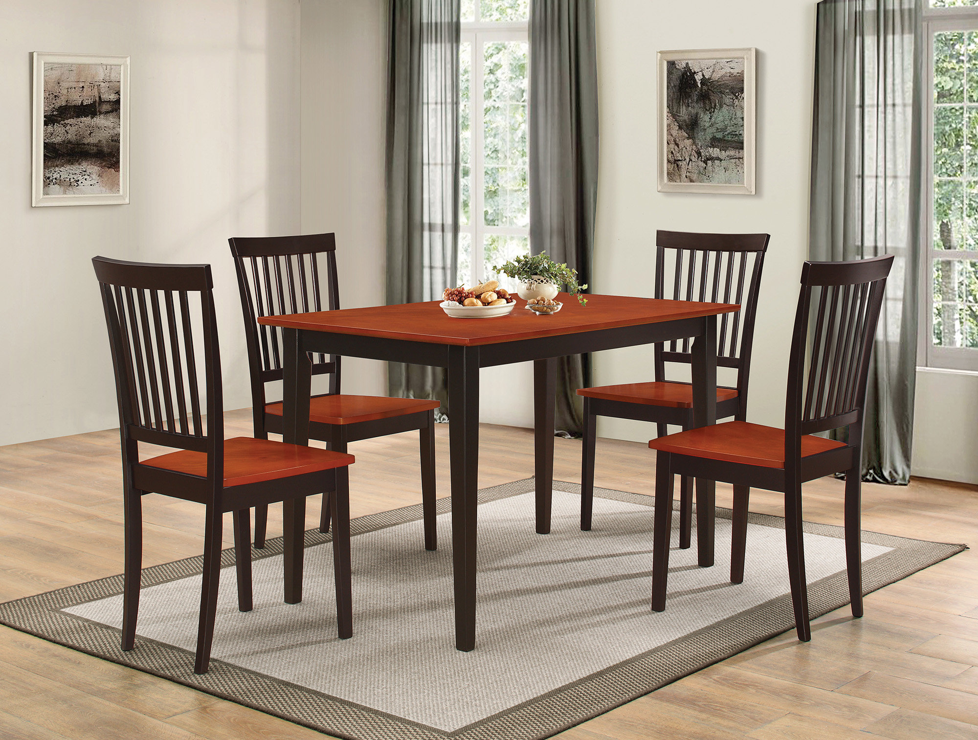 Pattonsburg 5 Piece Dining Set With Regard To Most Recent Pattonsburg 5 Piece Dining Sets (View 1 of 20)